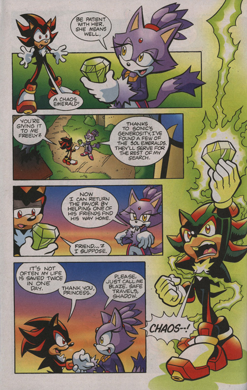 Read online Sonic Universe comic -  Issue #1 - 21
