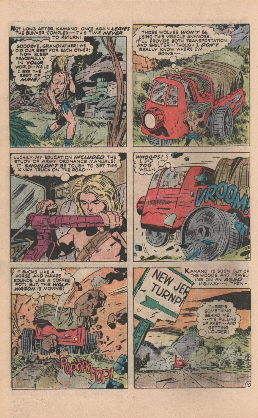 Kamandi, The Last Boy On Earth issue 32 - Page 41
