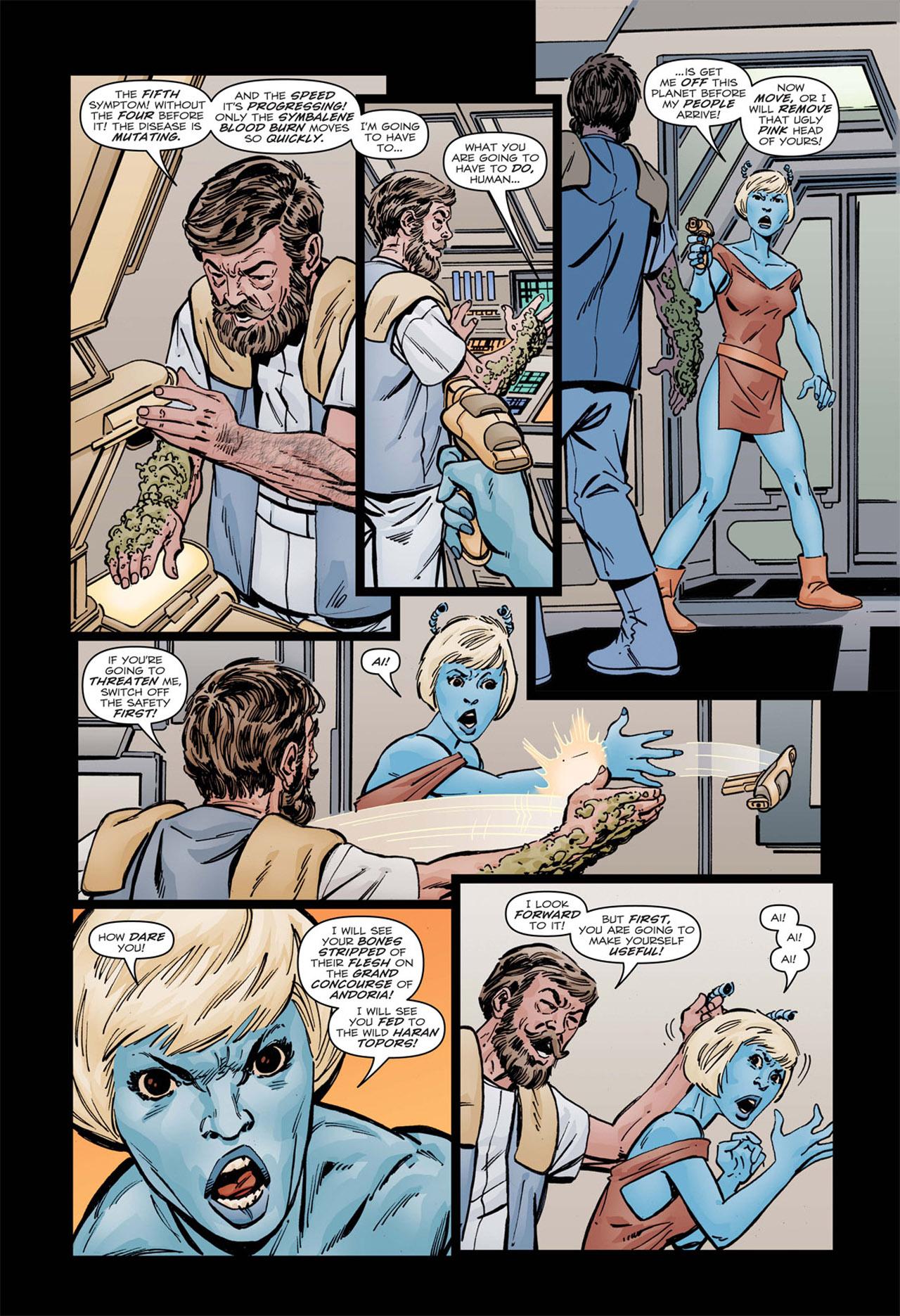 Read online Star Trek: Leonard McCoy, Frontier Doctor comic -  Issue #1 - 21