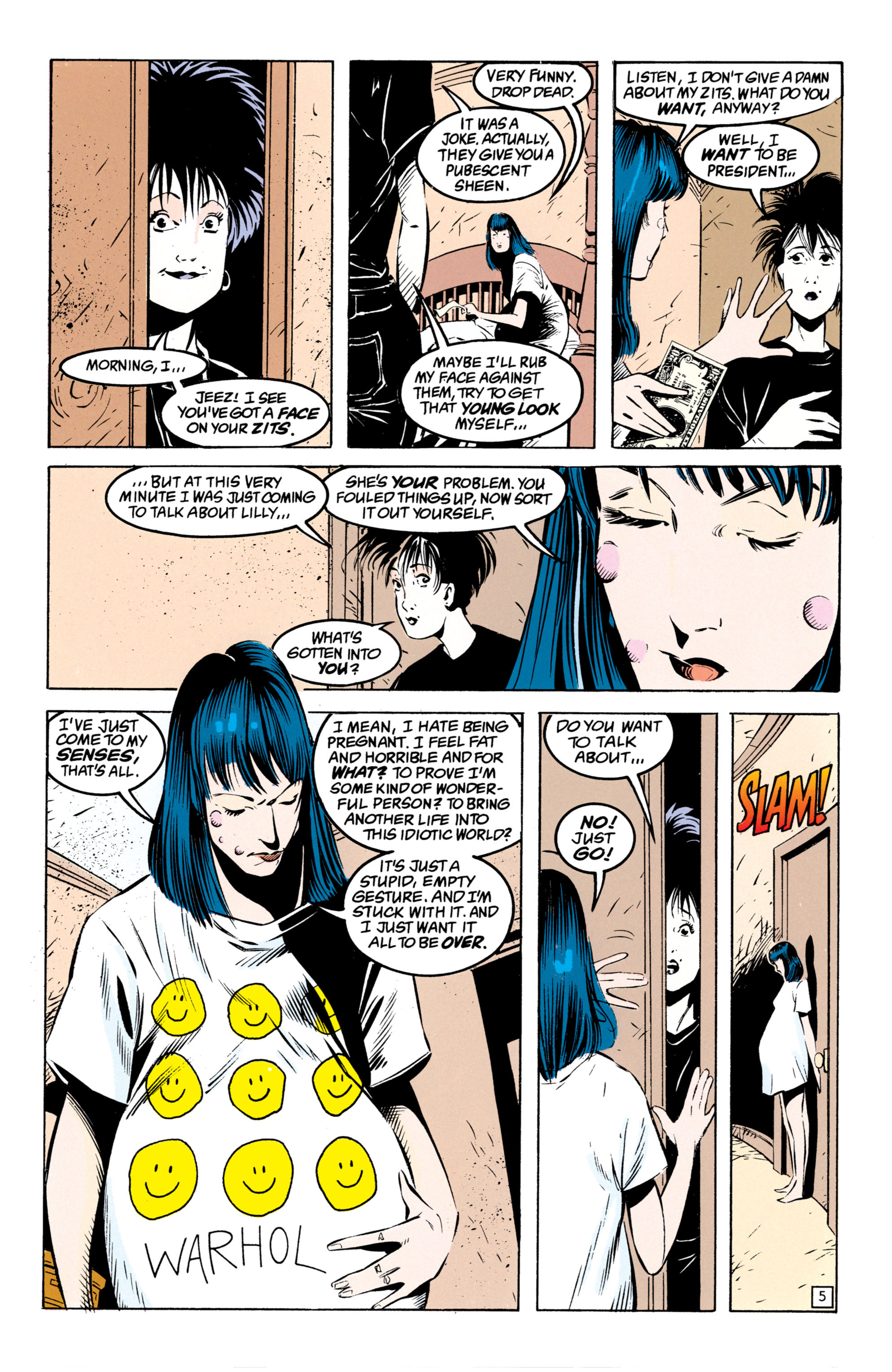 Read online Shade, the Changing Man comic -  Issue #49 - 6