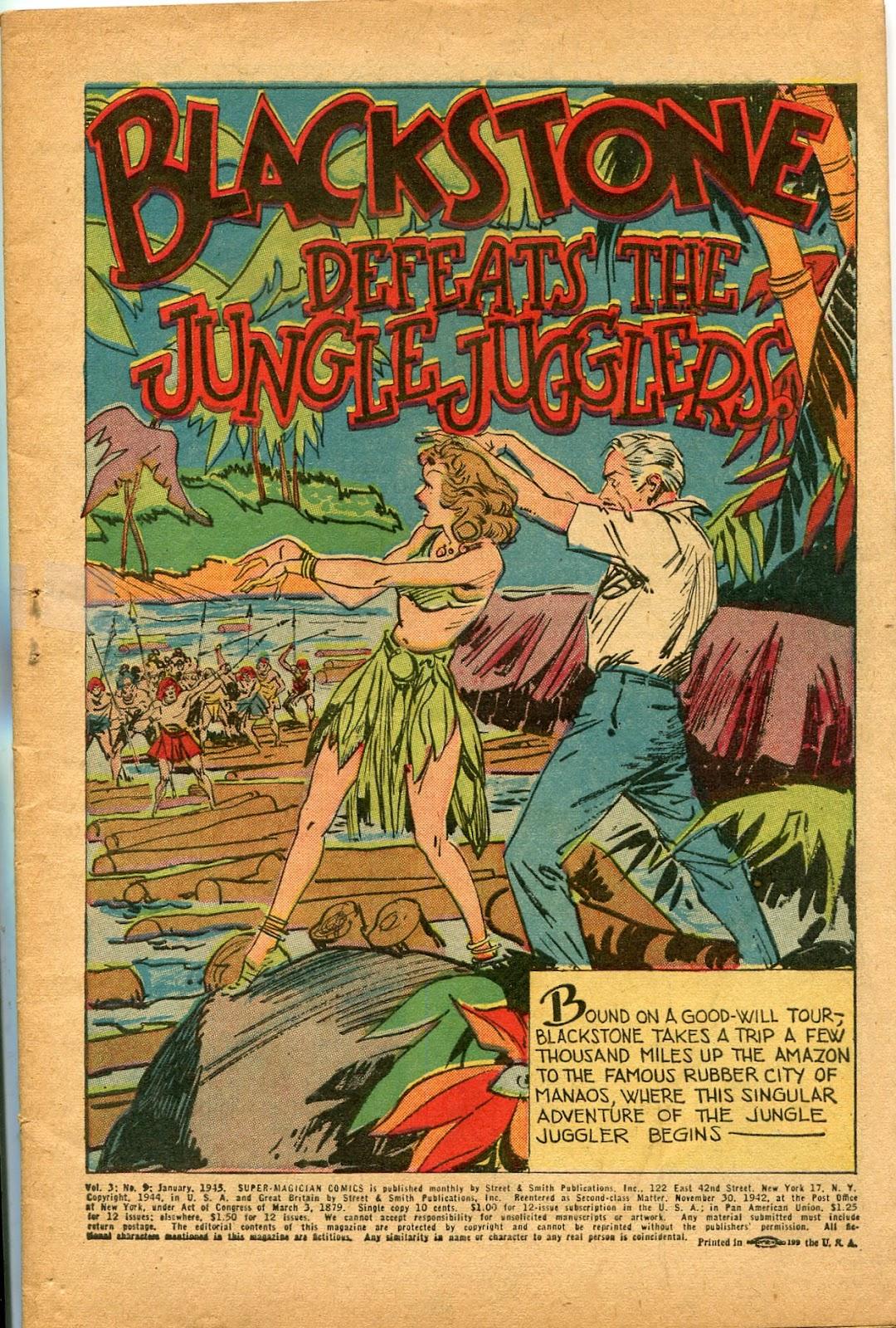 Read online Super-Magician Comics comic -  Issue #33 - 3