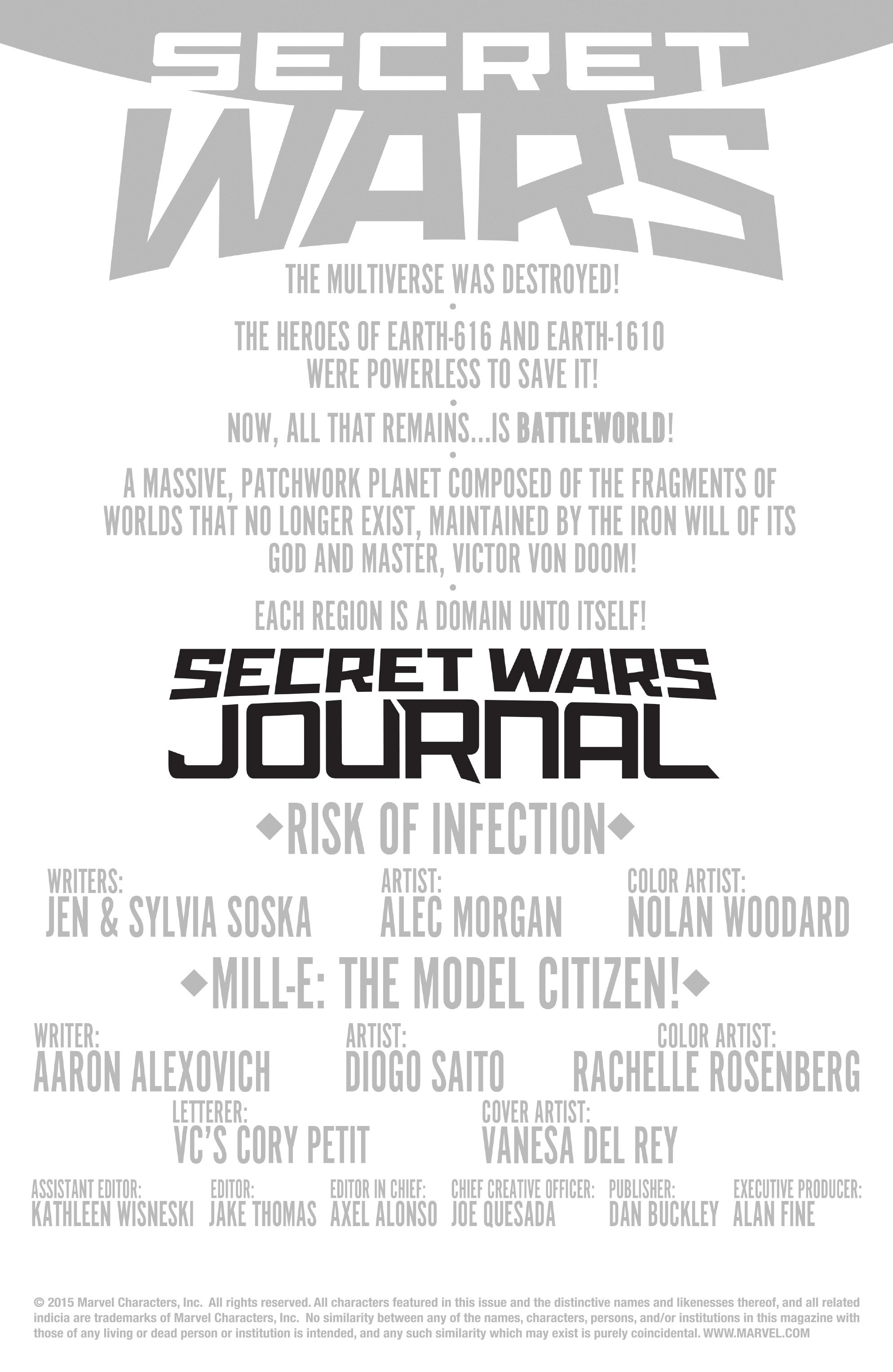 Read online Secret Wars Journal/Battleworld comic -  Issue # TPB - 68