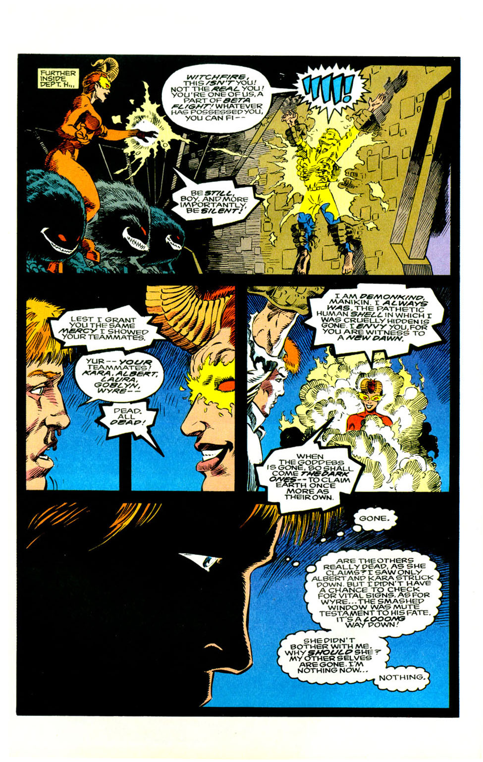Read online Alpha Flight (1983) comic -  Issue #123 - 7