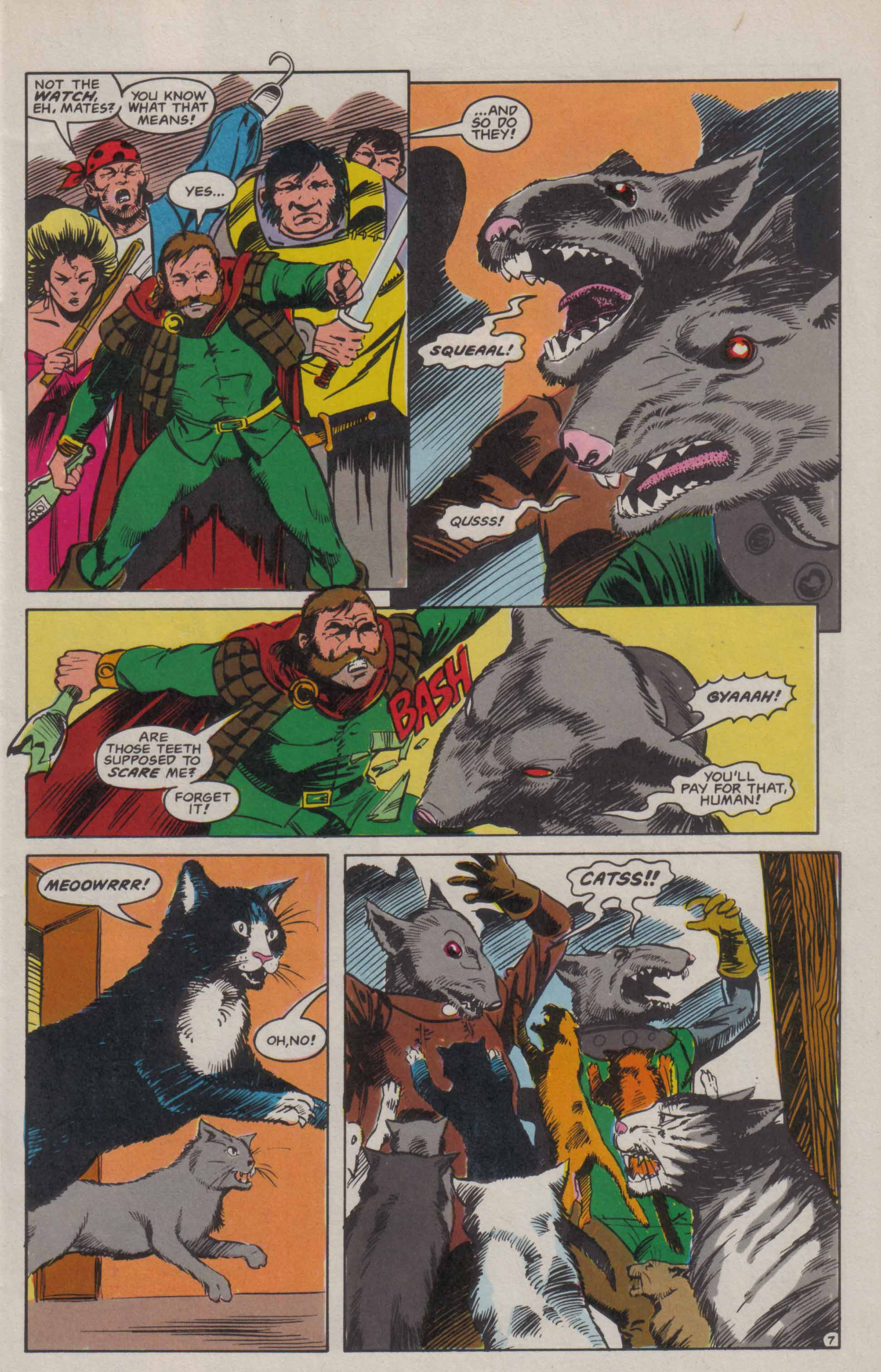 Read online Advanced Dungeons & Dragons comic -  Issue #6 - 8