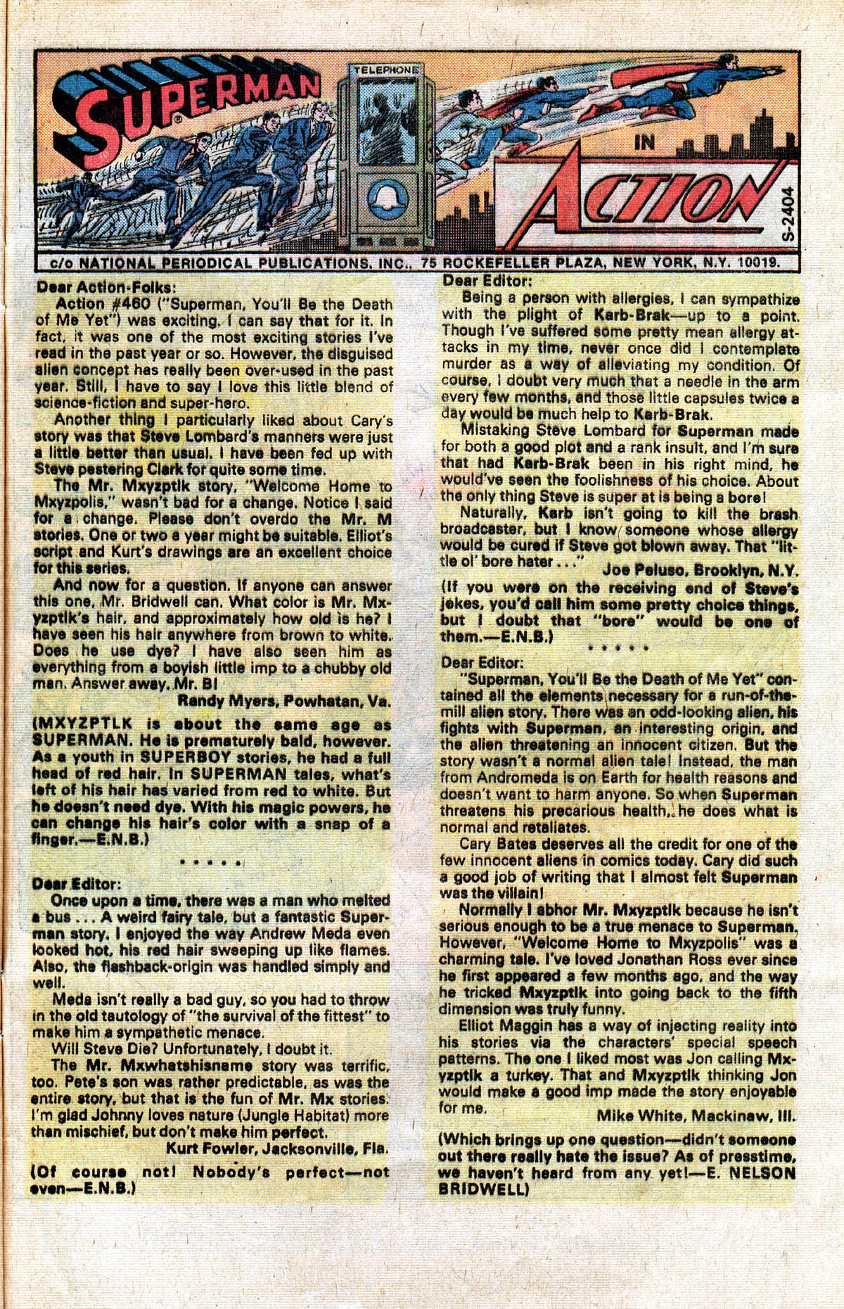 Read online Action Comics (1938) comic -  Issue #464 - 33