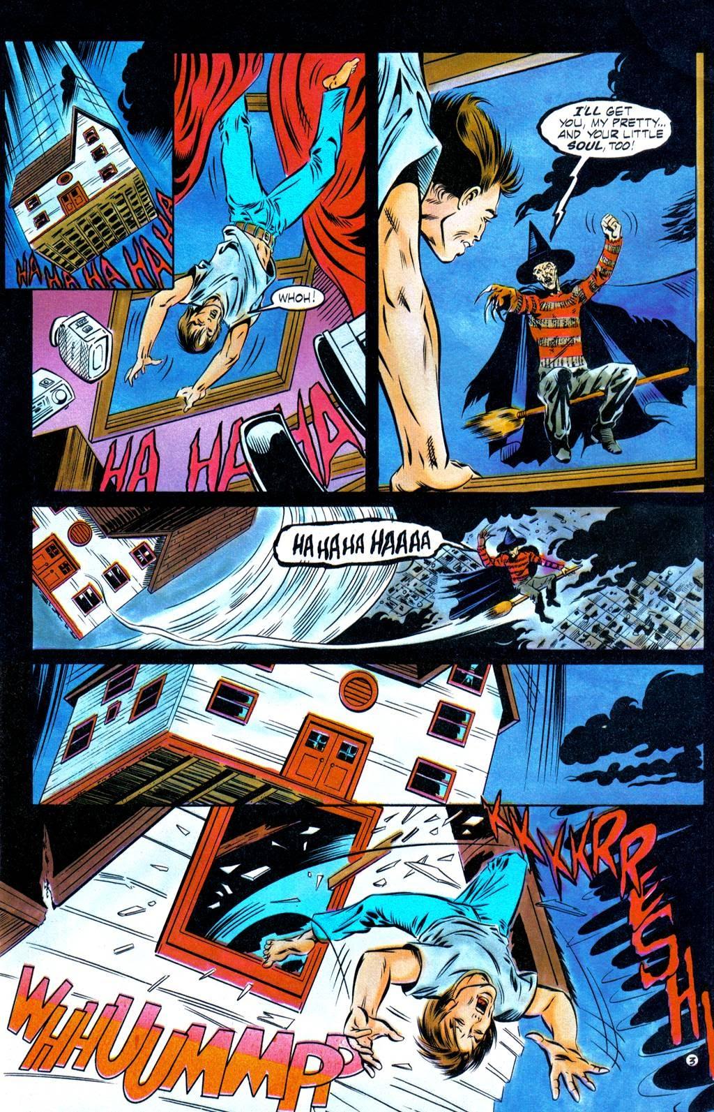 Read online Freddy's Dead: The Final Nightmare comic -  Issue #1 - 5