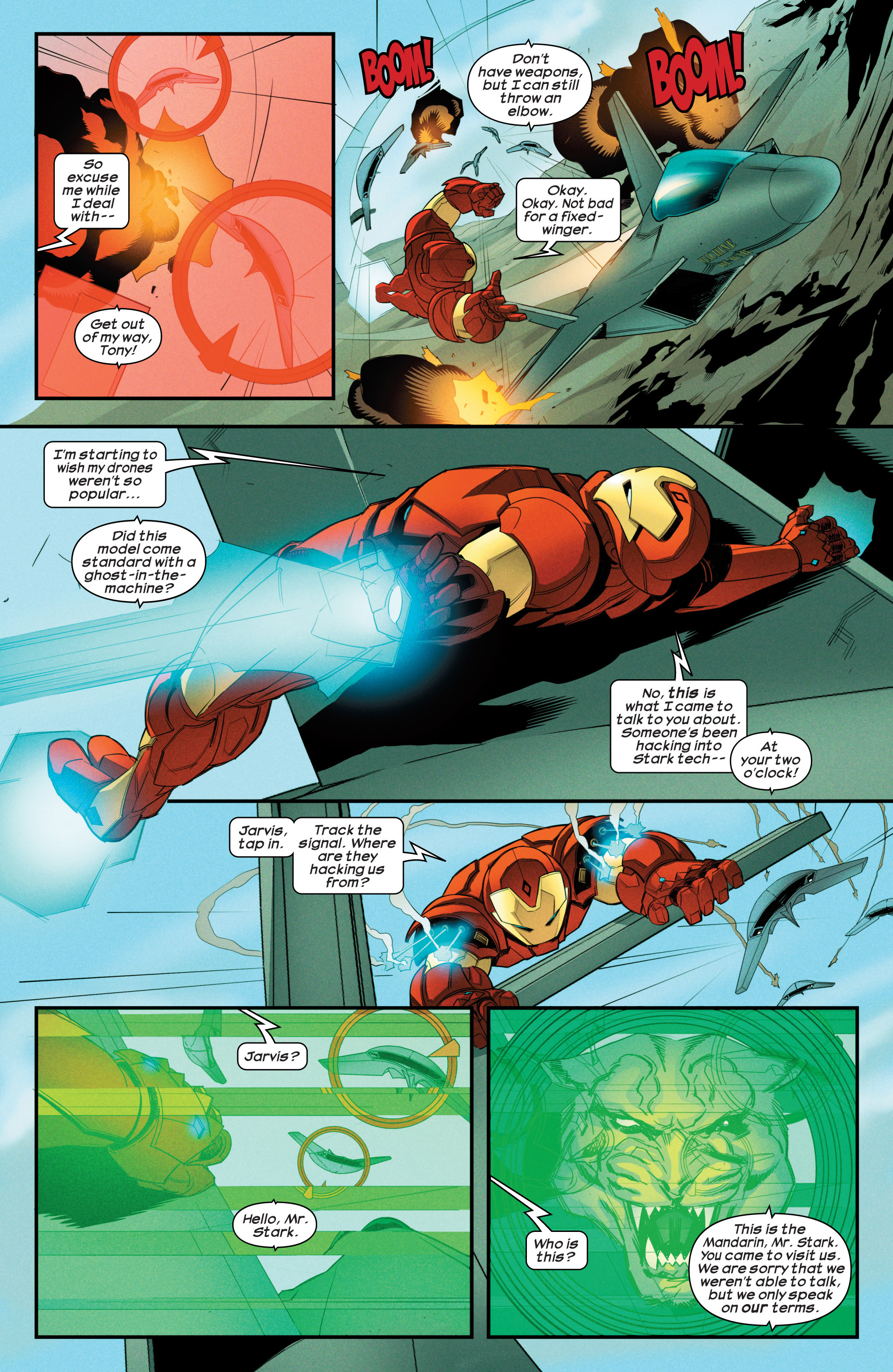 Read online Ultimate Comics Iron Man comic -  Issue #3 - 4