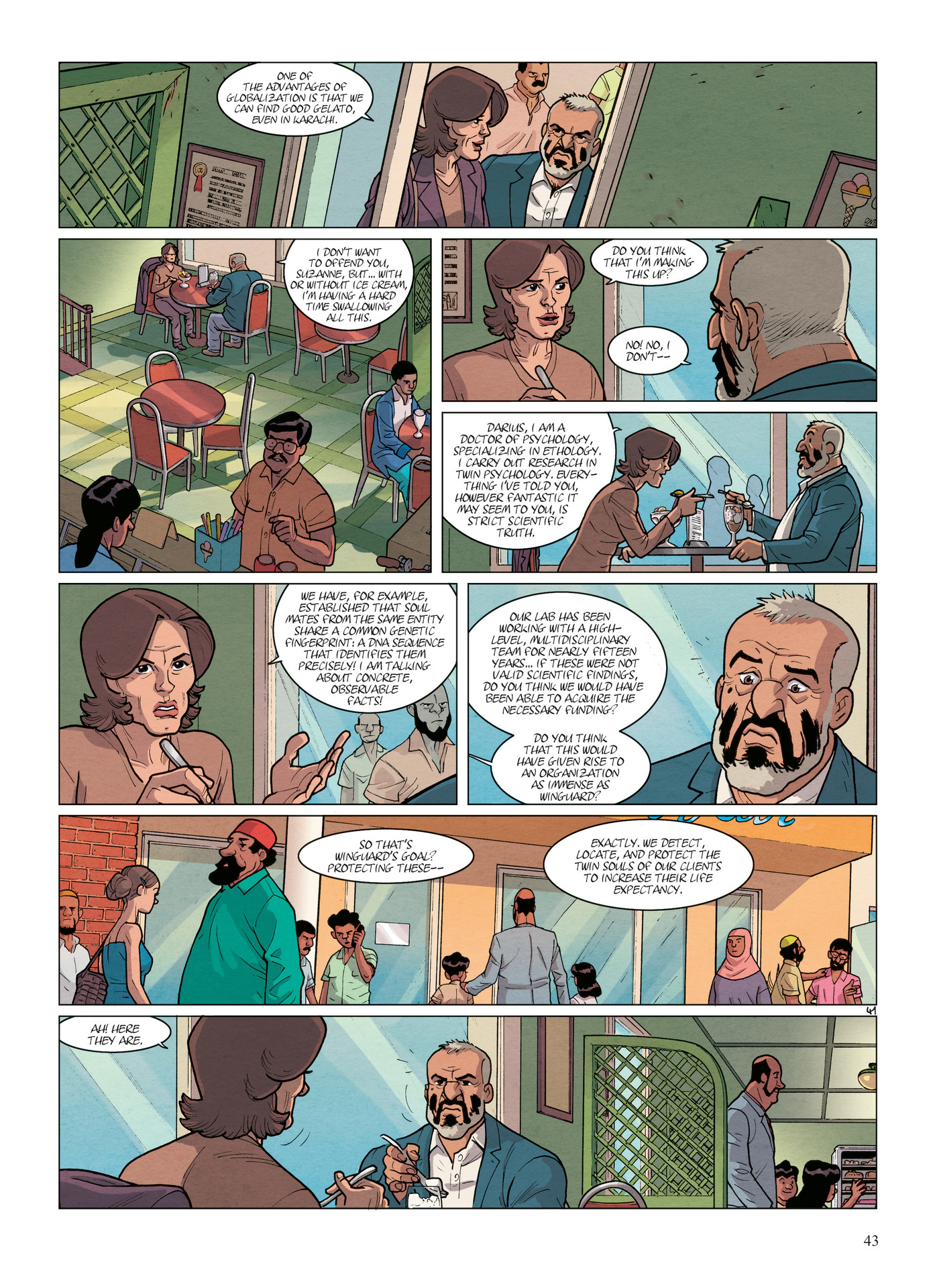 Read online Alter Ego comic -  Issue #6 - 45