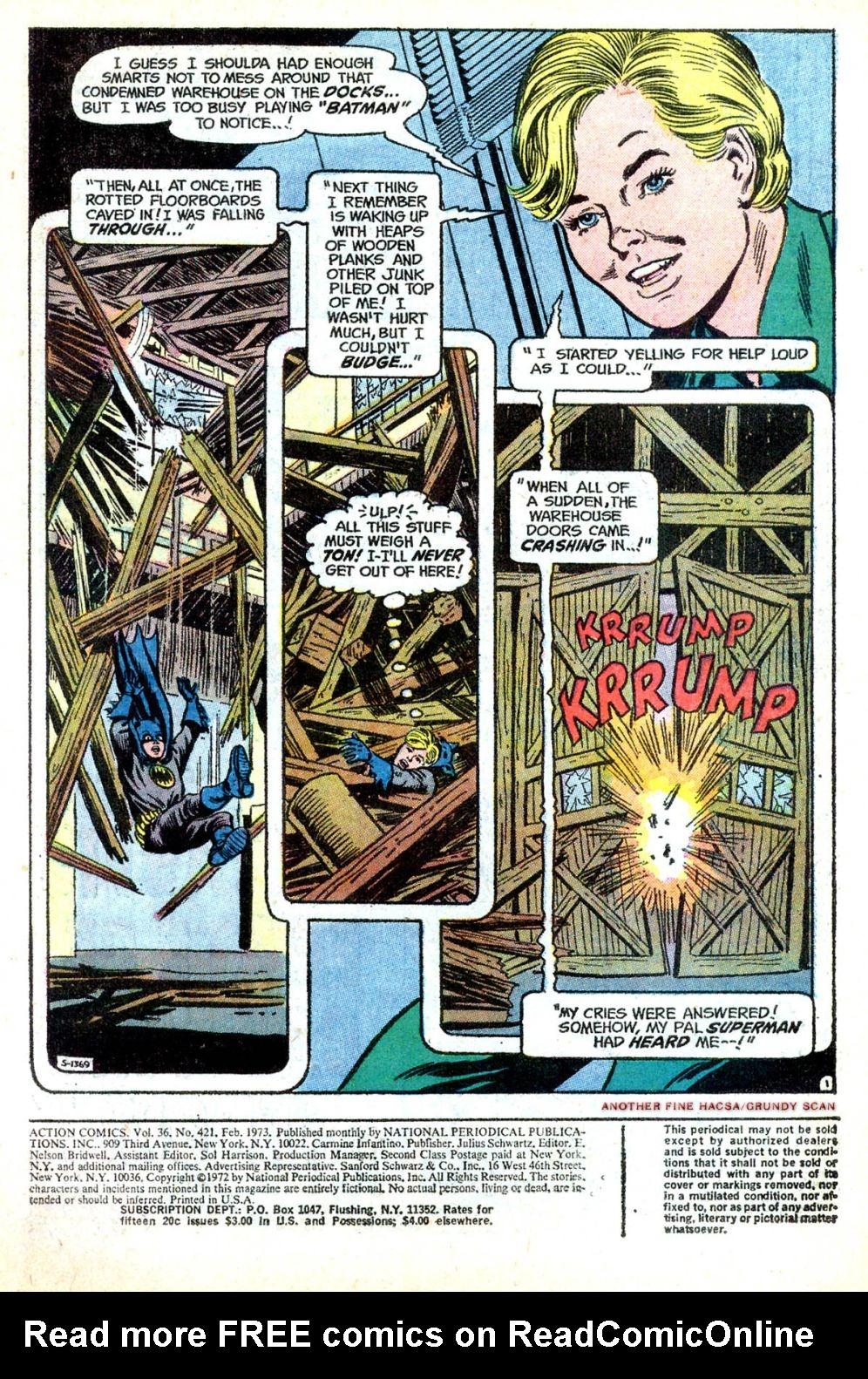 Action Comics (1938) 421 Page 2