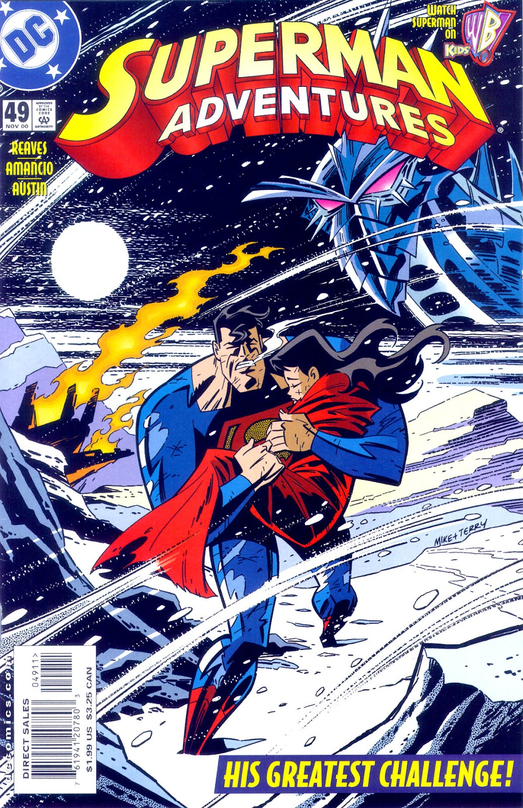 Superman Adventure (1996-2002) issue 49 - Page 1