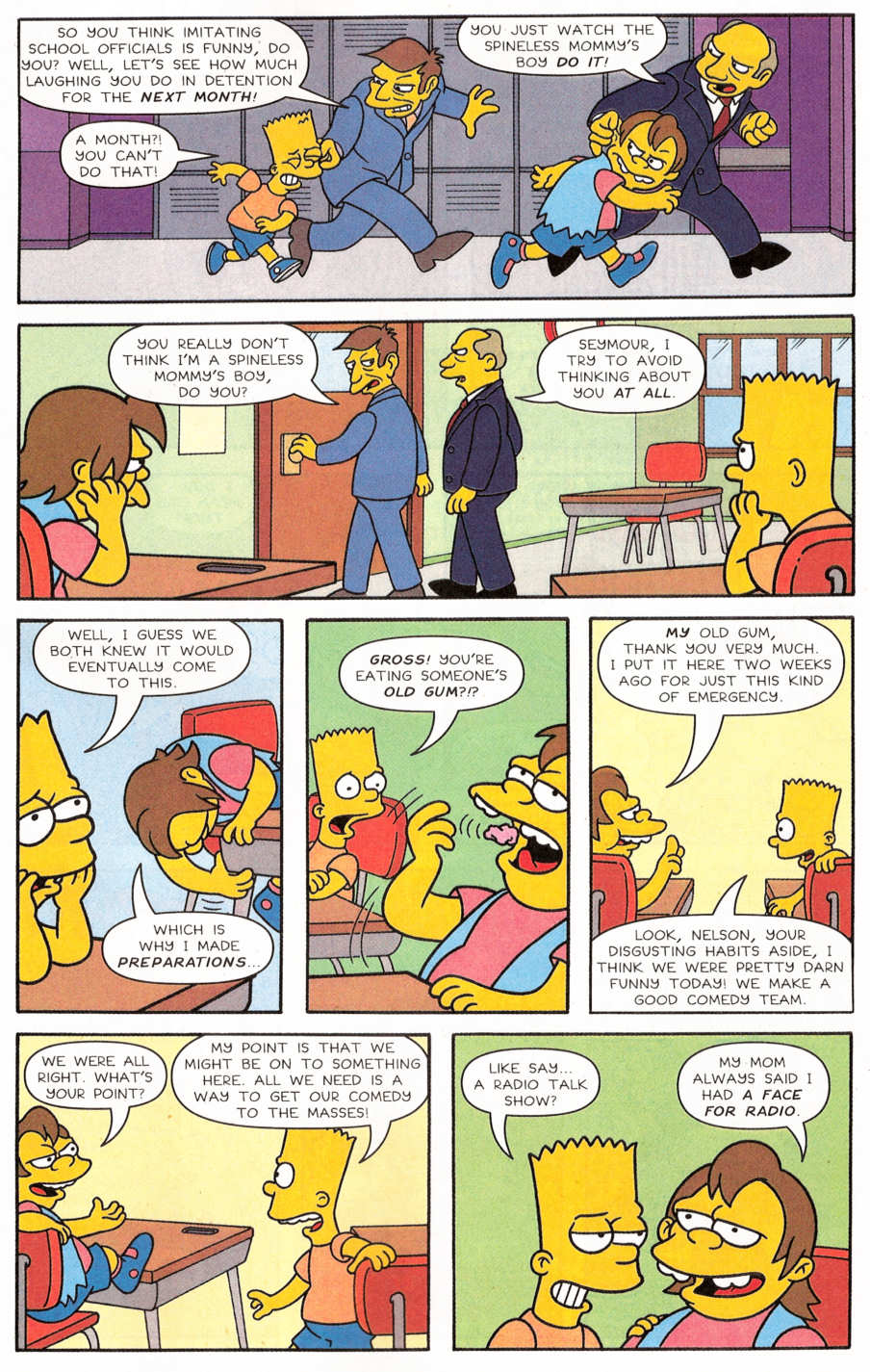 Read online Simpsons Comics Presents Bart Simpson comic -  Issue #29 - 17