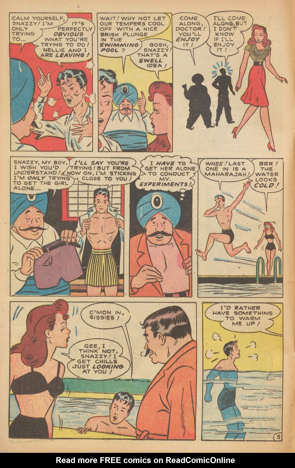 Read online Nellie The Nurse (1945) comic -  Issue #15 - 16