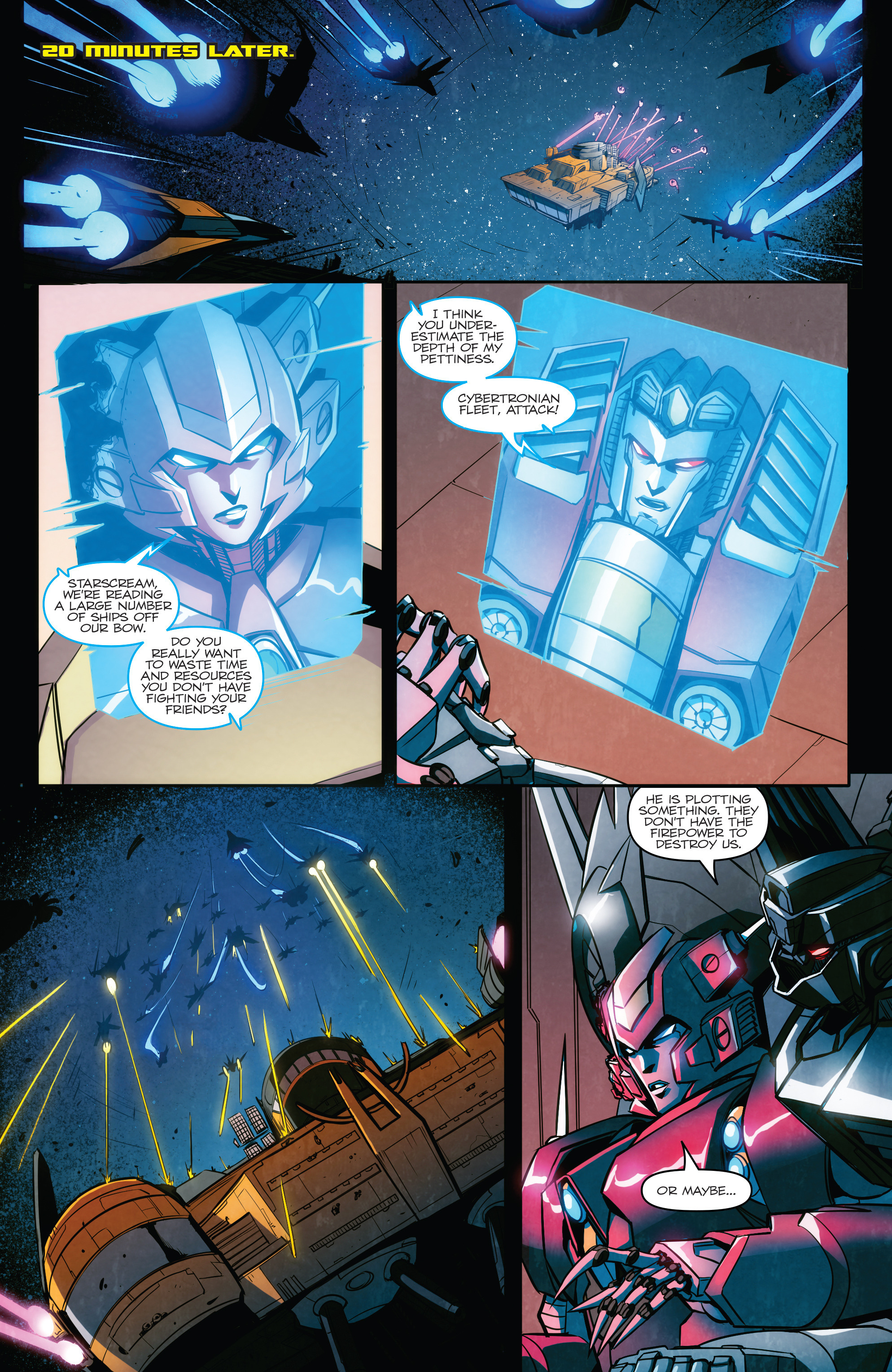 Read online Transformers: Till All Are One comic -  Issue #6 - 21