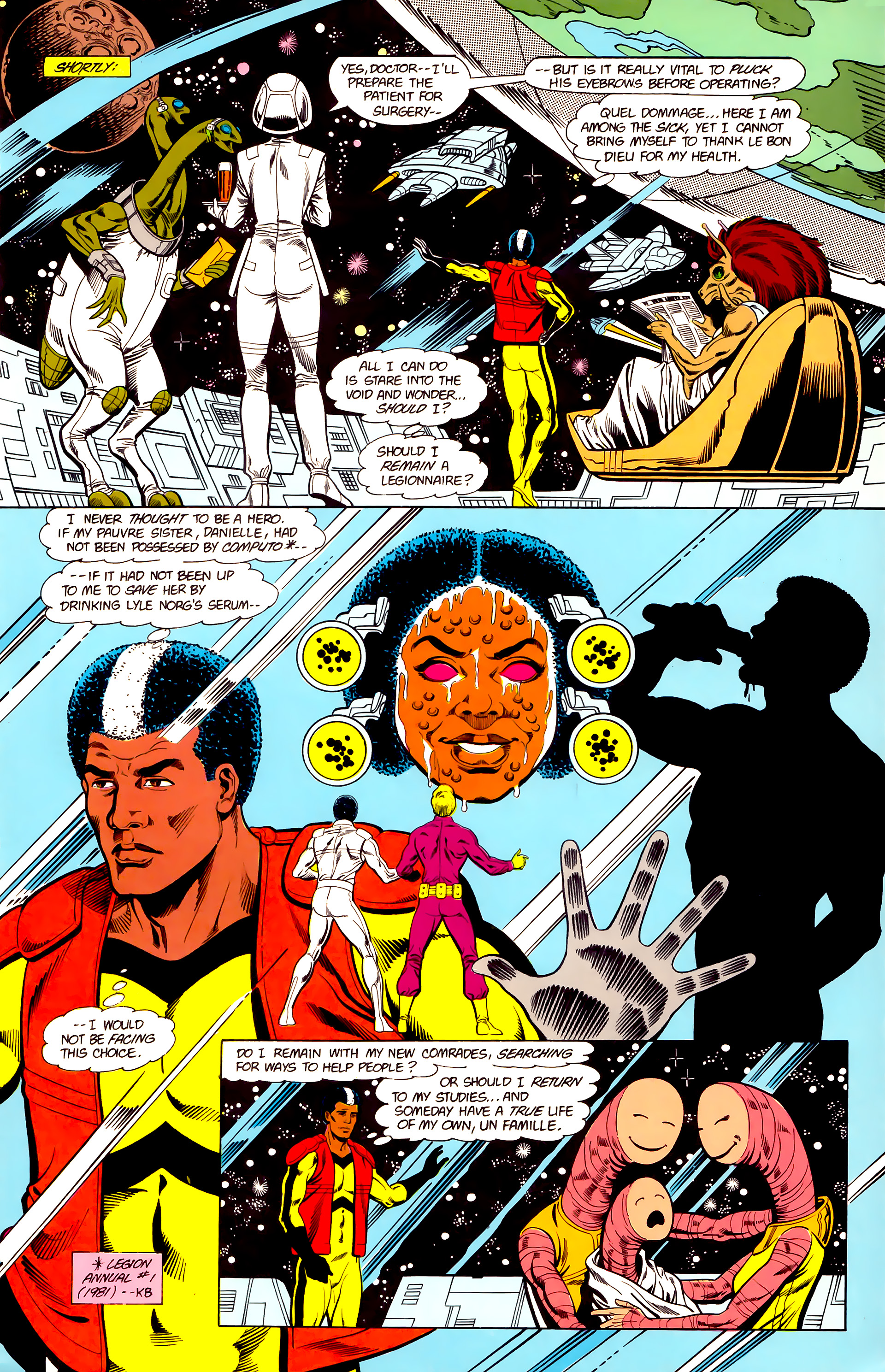 Legion of Super-Heroes (1984) 19 Page 23