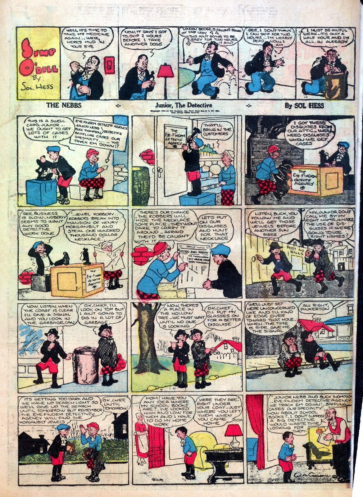 Read online Famous Funnies comic -  Issue #1 - 43
