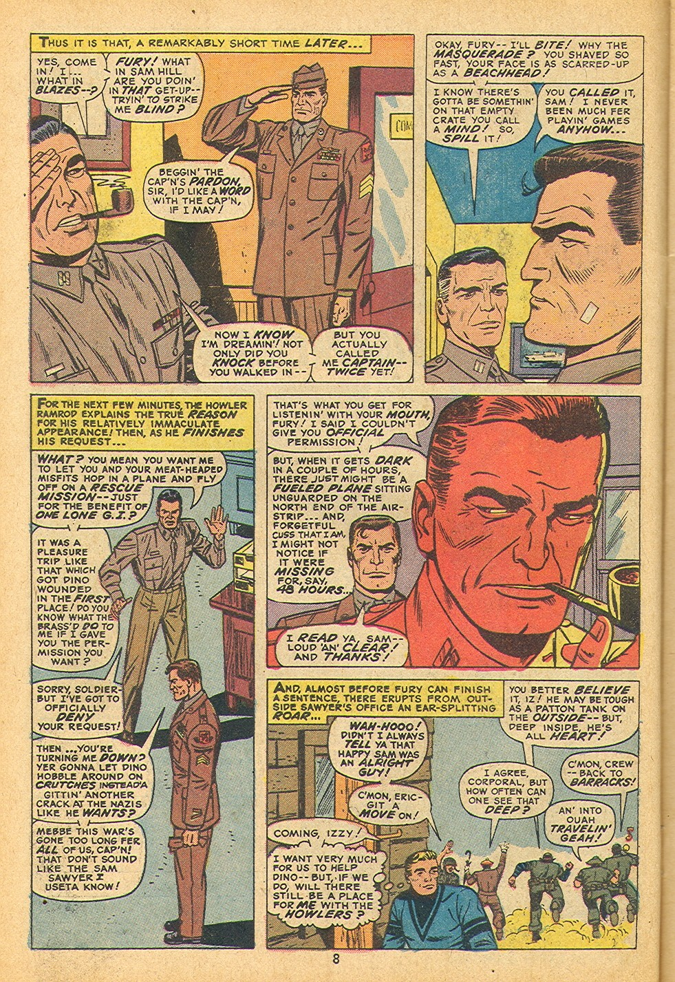 Read online Sgt. Fury comic -  Issue #109 - 10
