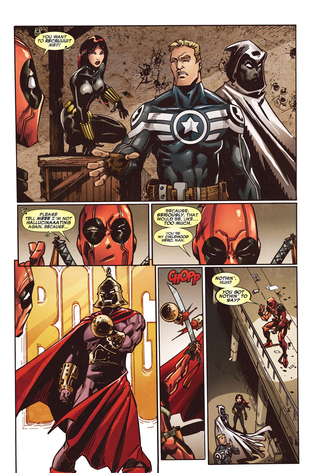 Read online Deadpool (2008) comic -  Issue #49.1 - 18
