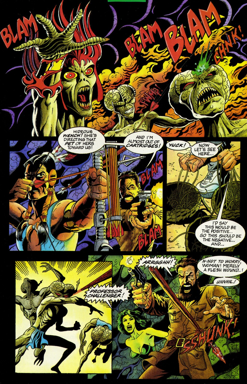 Read online Turok, Dinosaur Hunter (1993) comic -  Issue #33 - 13