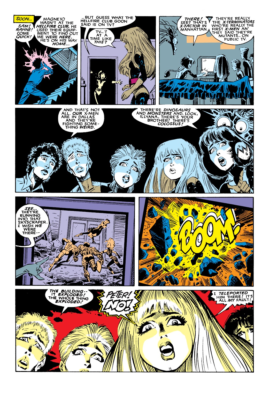 Read online X-Men Milestones: Fall of the Mutants comic -  Issue # TPB (Part 2) - 72