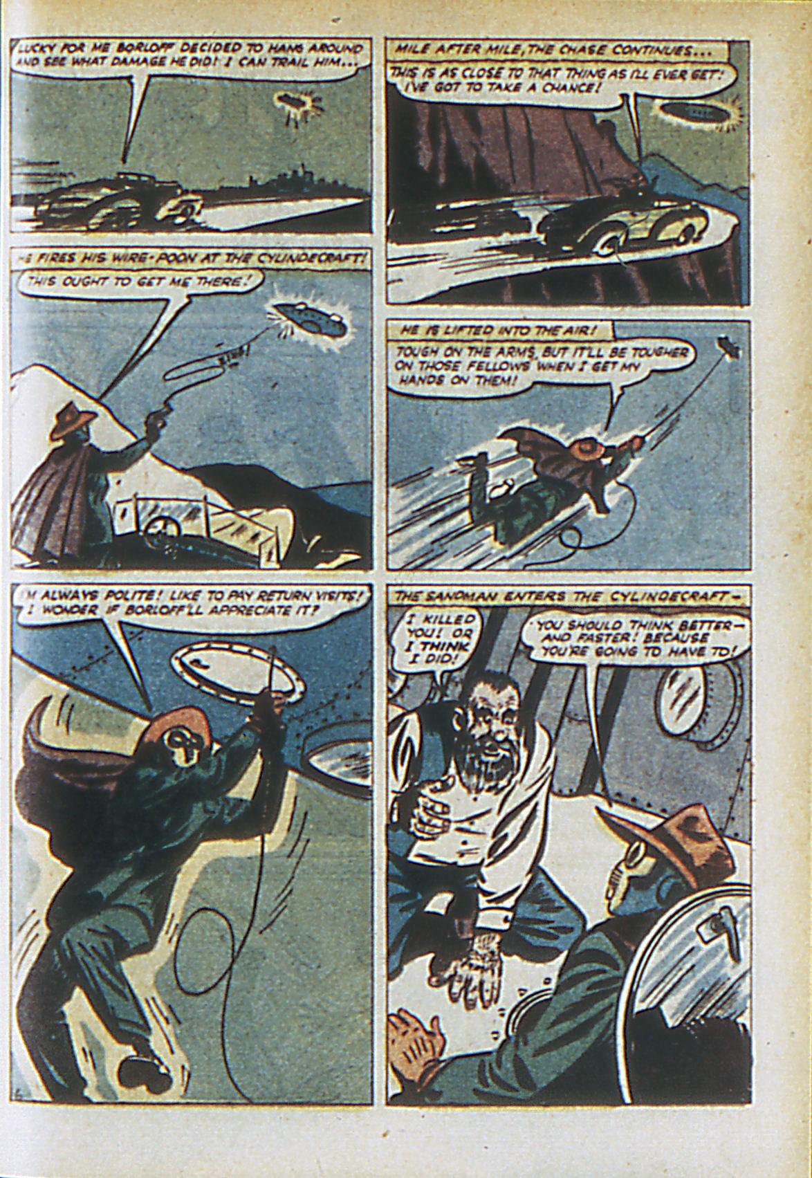 Read online Adventure Comics (1938) comic -  Issue #61 - 62
