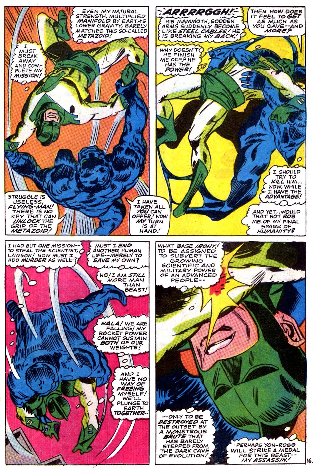 Captain Marvel (1968) issue 5 - Page 17