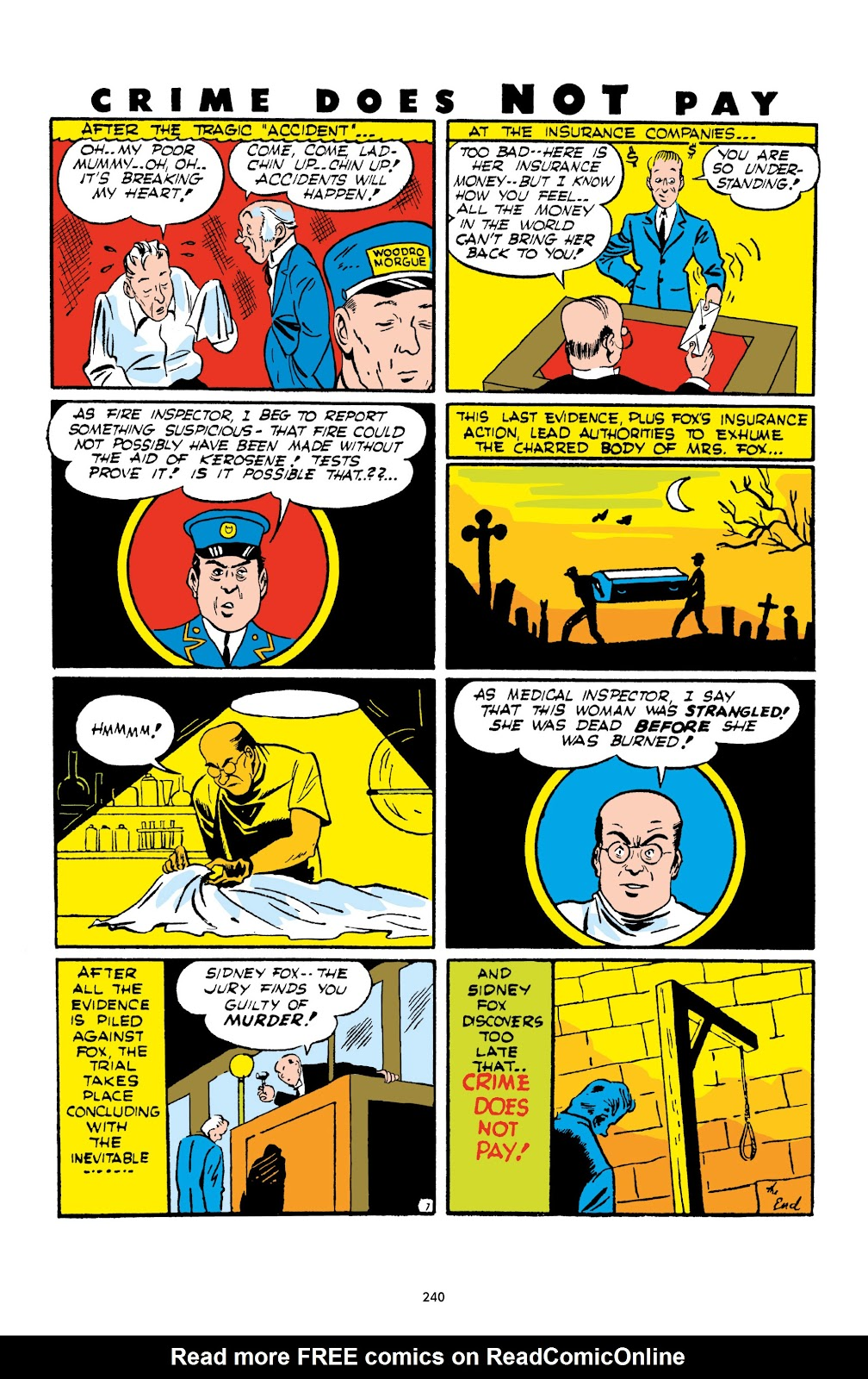 Read online Crime Does Not Pay Archives comic -  Issue # TPB 1 (Part 3) - 43