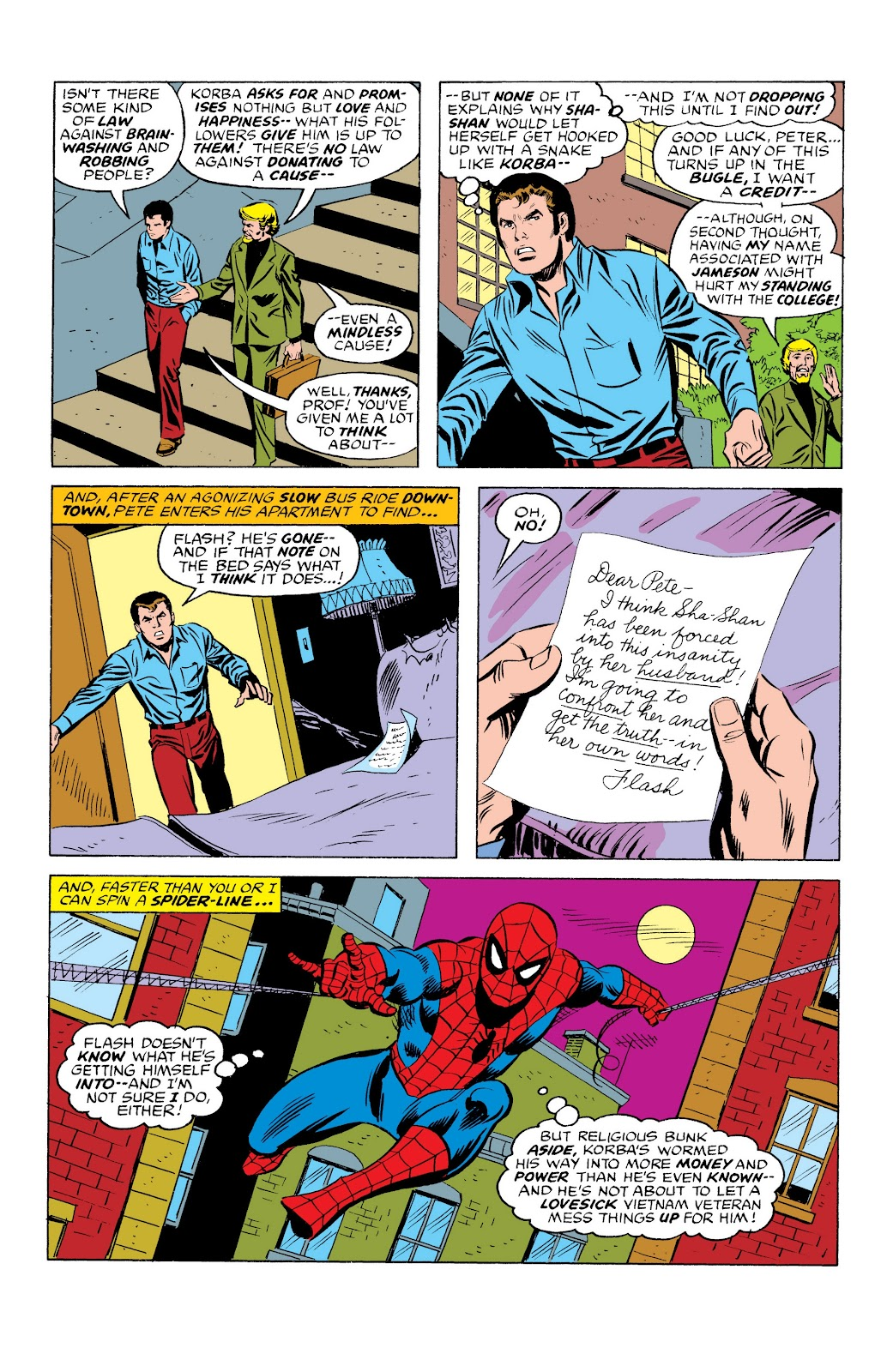 Read online Marvel Masterworks: The Spectacular Spider-Man comic -  Issue # TPB (Part 3) - 6