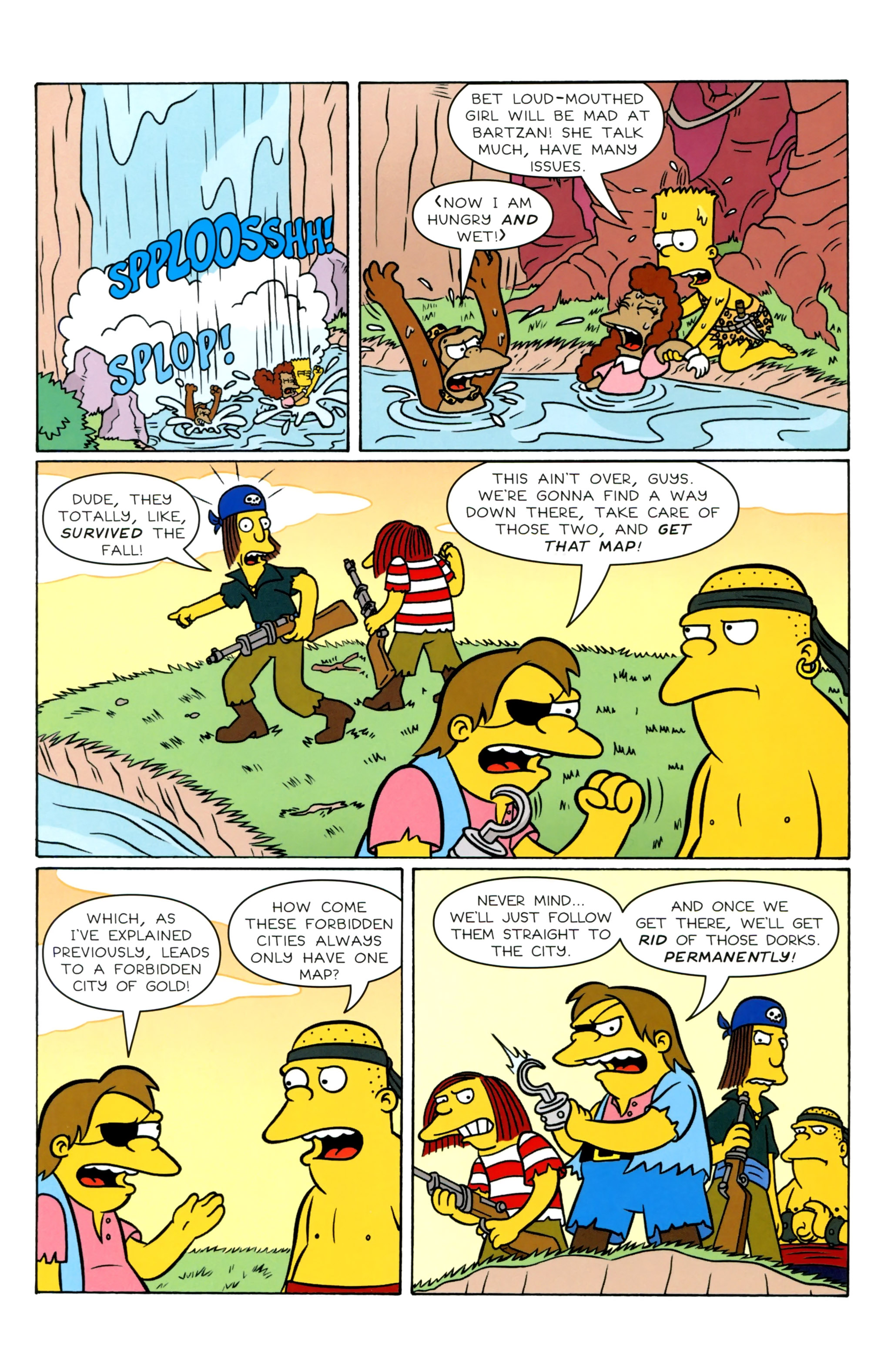 Read online Simpsons Illustrated (2012) comic -  Issue #20 - 32
