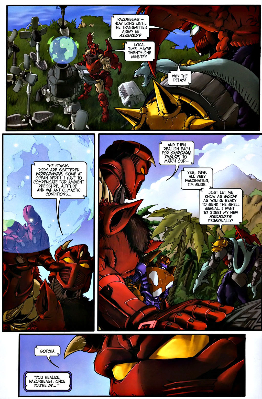 Read online Transformers, Beast Wars: The Gathering comic -  Issue #1 - 11