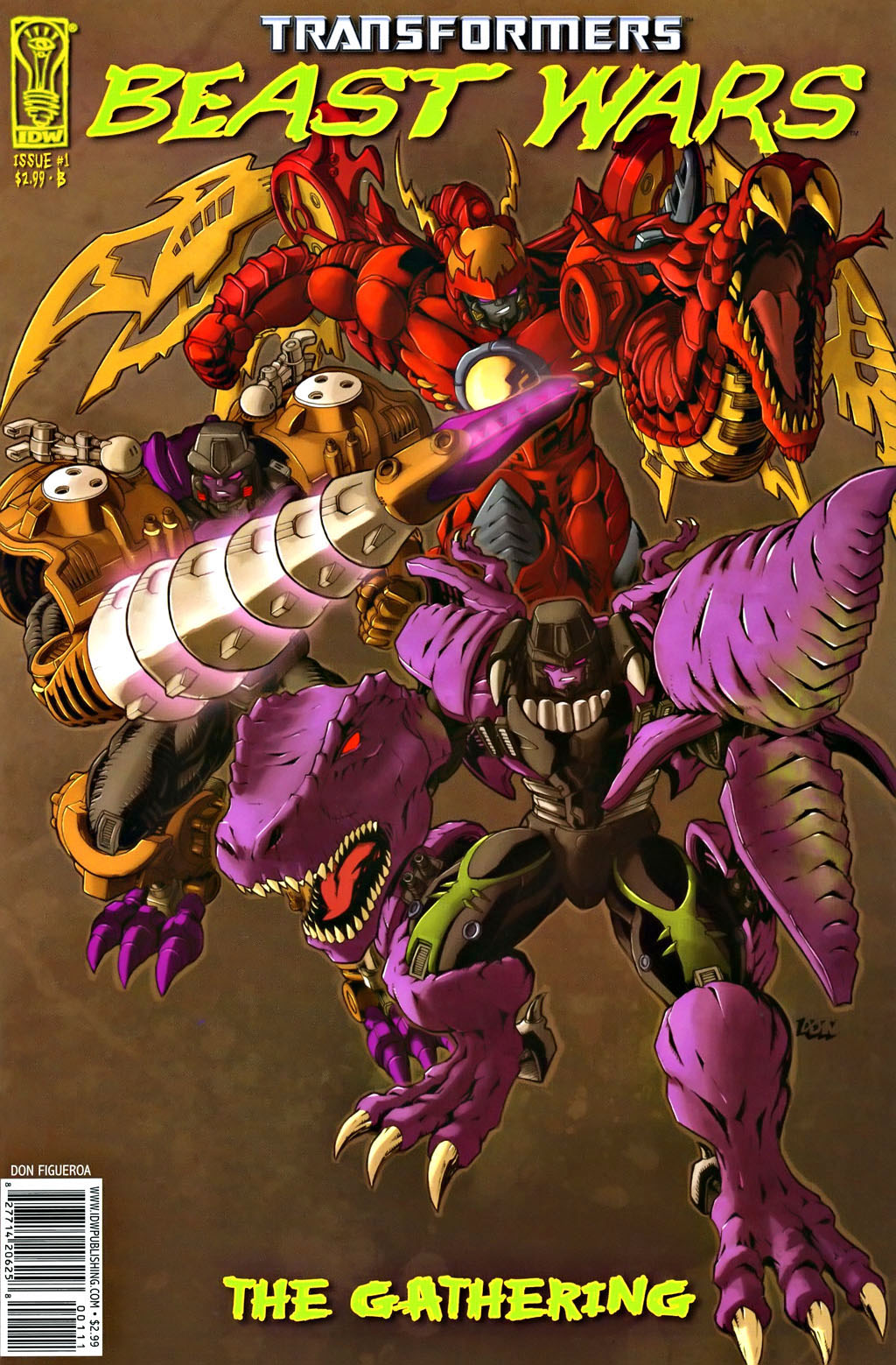 Read online Transformers, Beast Wars: The Gathering comic -  Issue #1 - 1