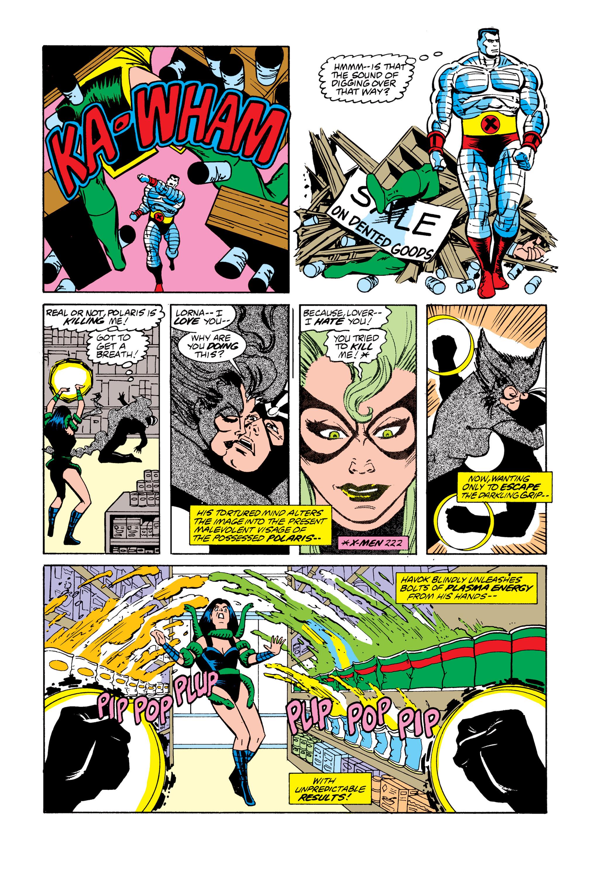 Read online Uncanny X-Men (1963) comic -  Issue # _Annual 13 - 21