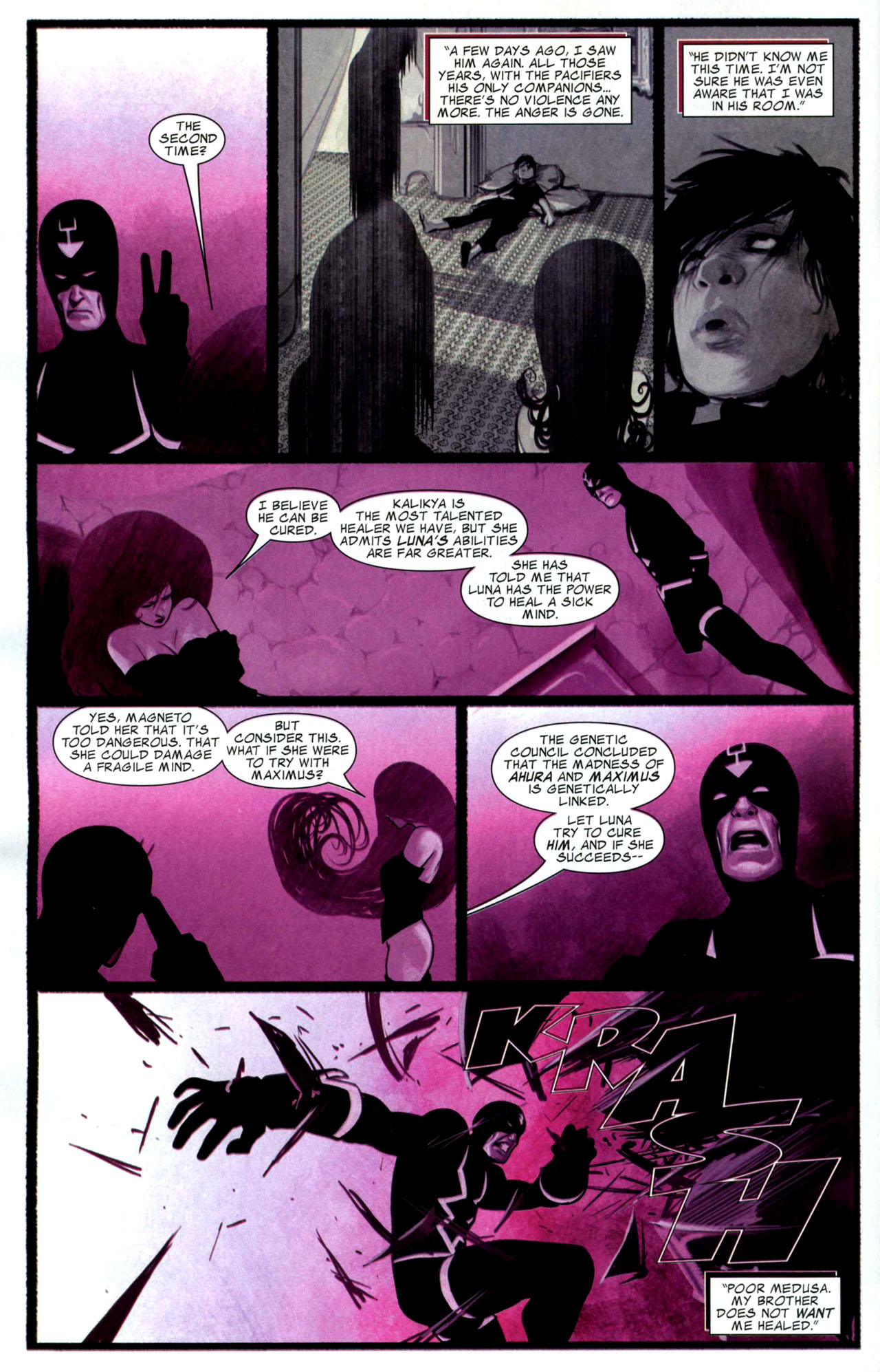 Read online Silent War comic -  Issue #4 - 8