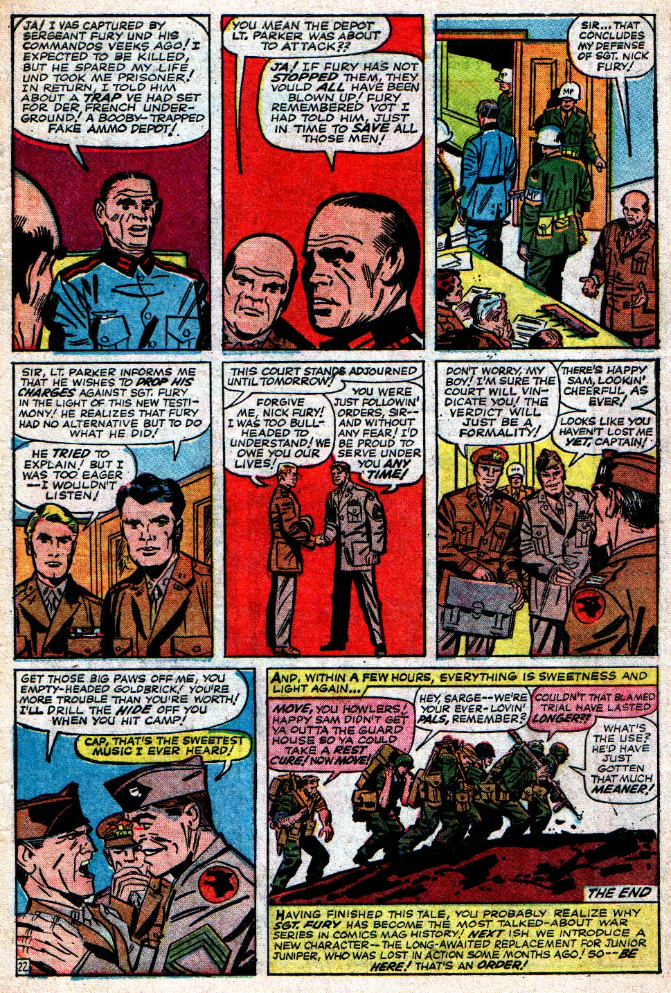 Read online Sgt. Fury comic -  Issue #7 - 31