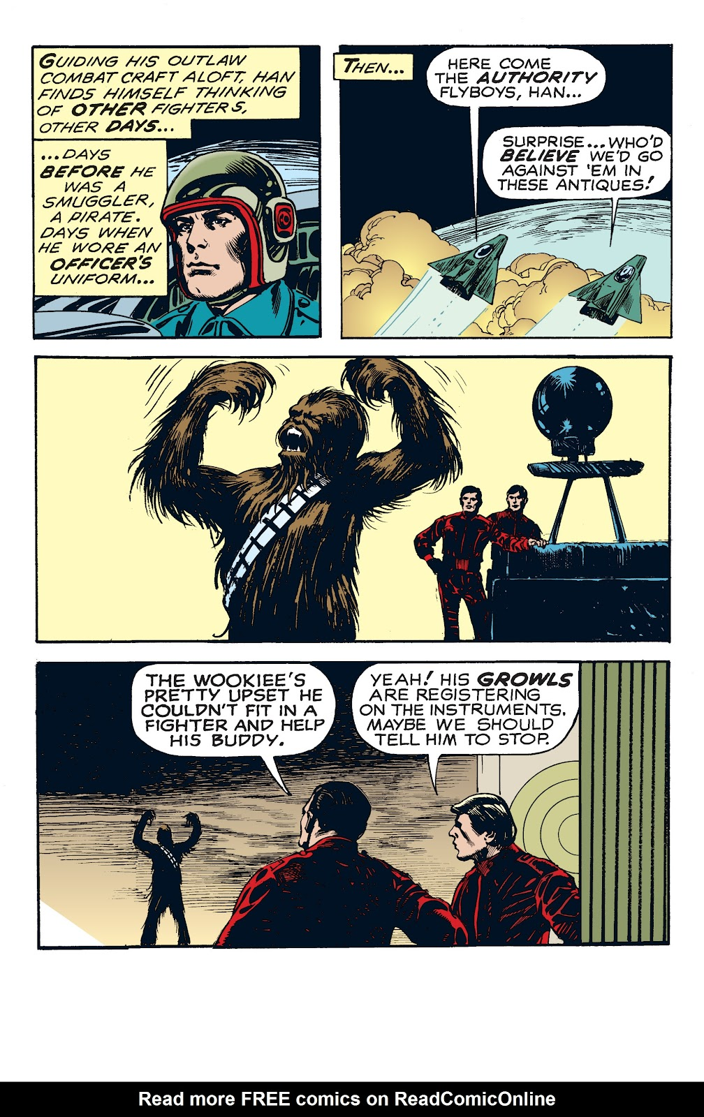 Read online Star Wars Legends: The Newspaper Strips - Epic Collection comic -  Issue # TPB (Part 4) - 14