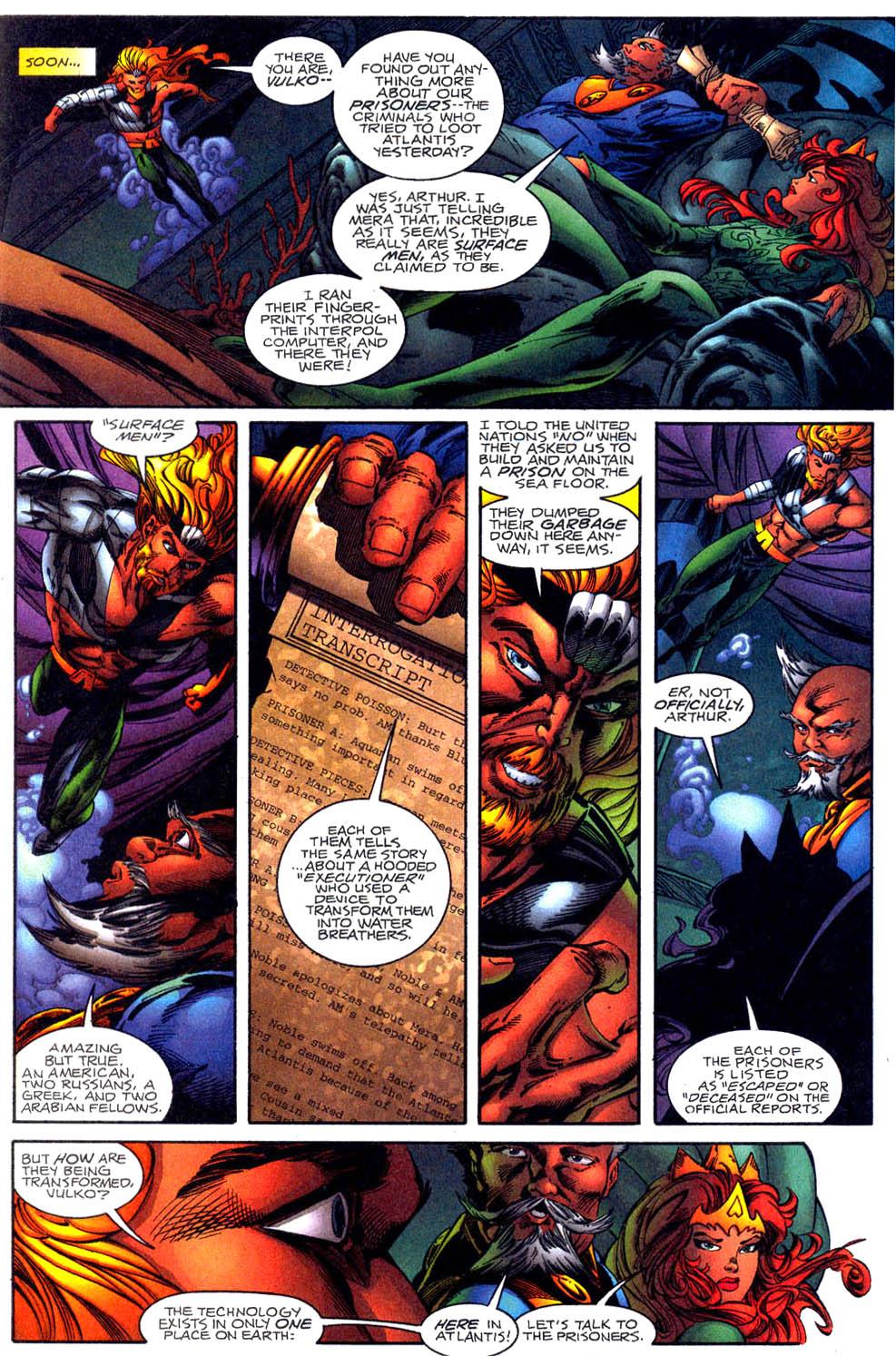 Read online Aquaman (1994) comic -  Issue #61 - 4