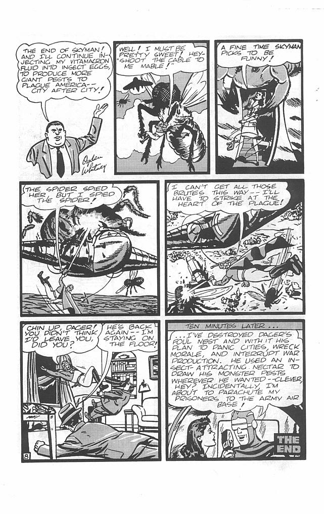 Read online Golden-Age Men of Mystery comic -  Issue #7 - 10