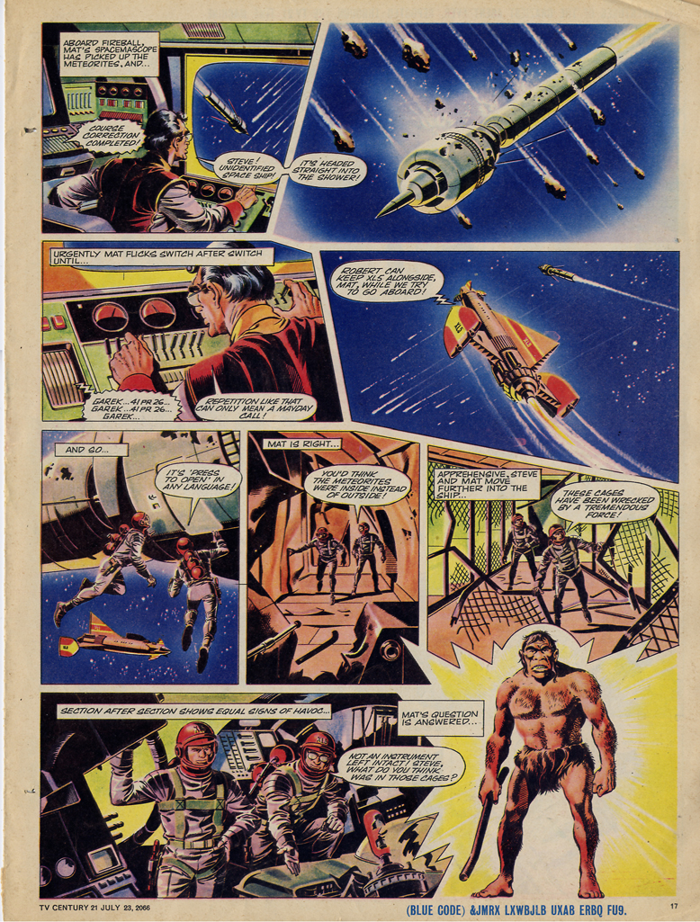 Read online TV Century 21 (TV 21) comic -  Issue #79 - 16