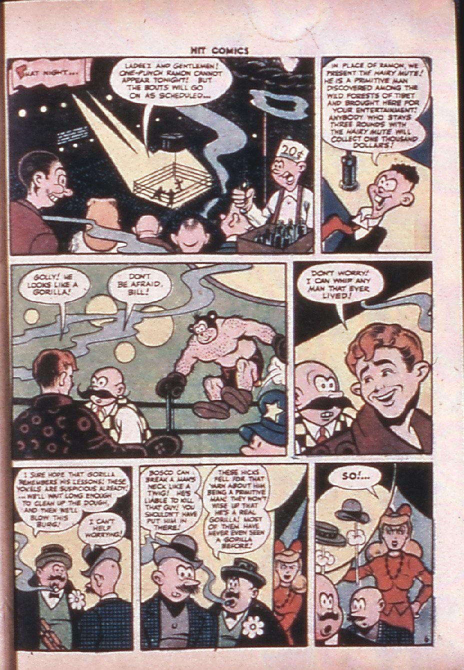 Read online Hit Comics comic -  Issue #33 - 52