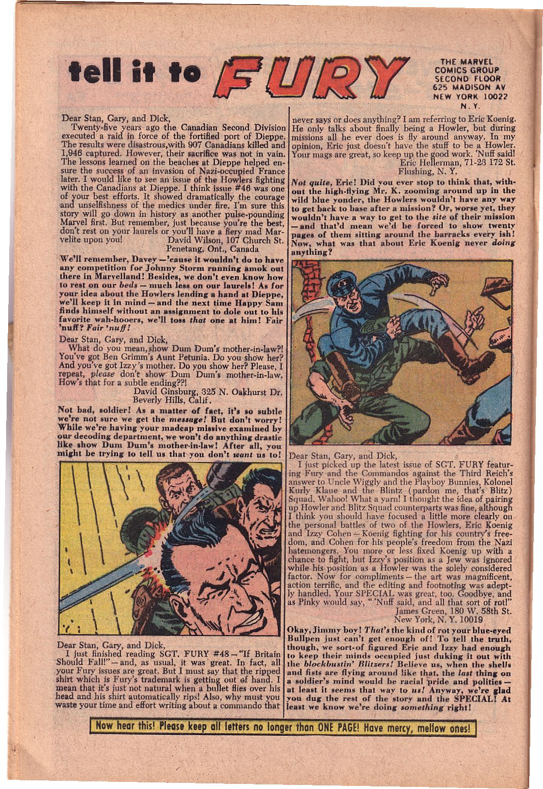 Read online Sgt. Fury comic -  Issue #52 - 32