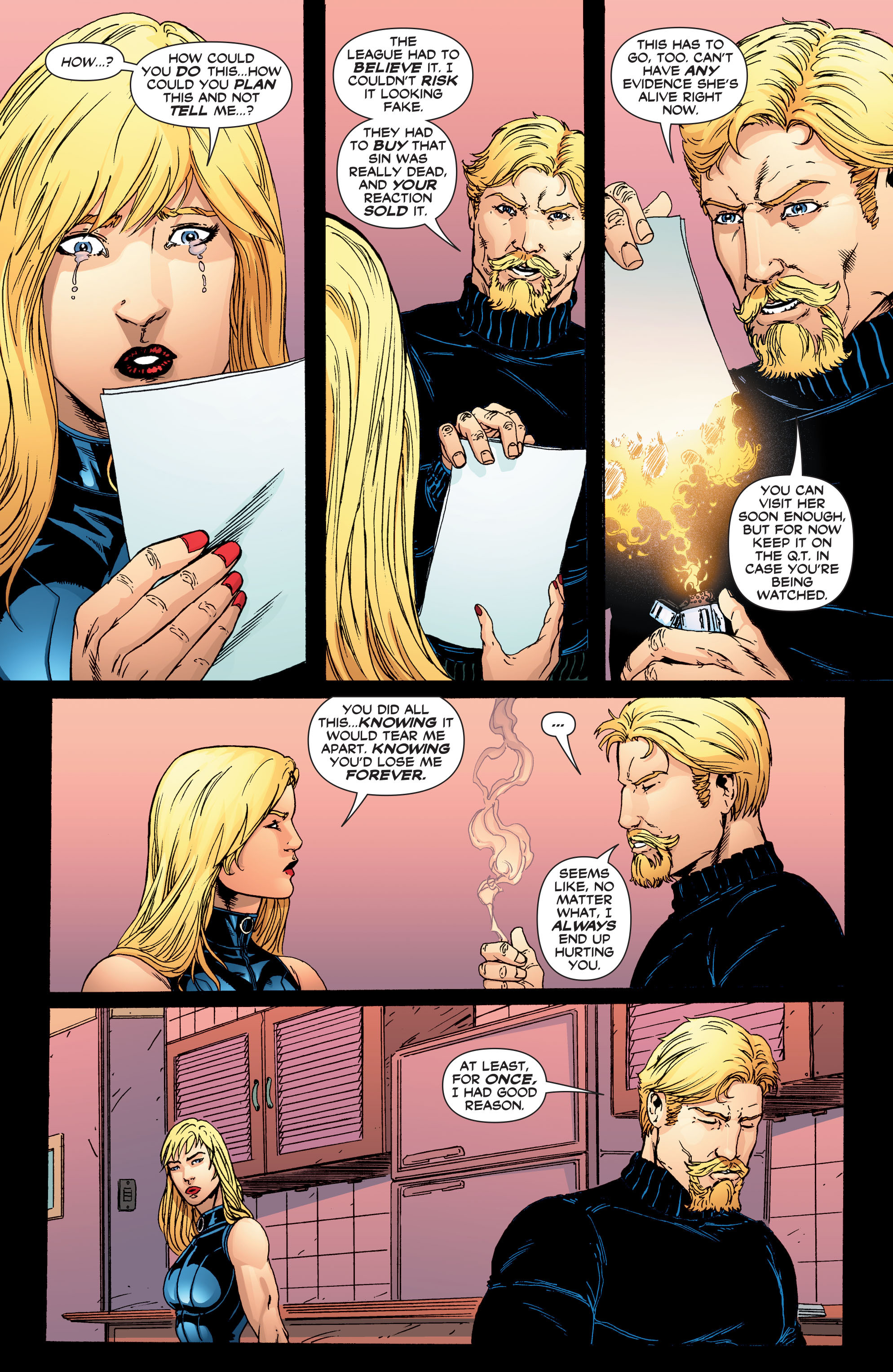 Read online Black Canary (2007) comic -  Issue #4 - 18