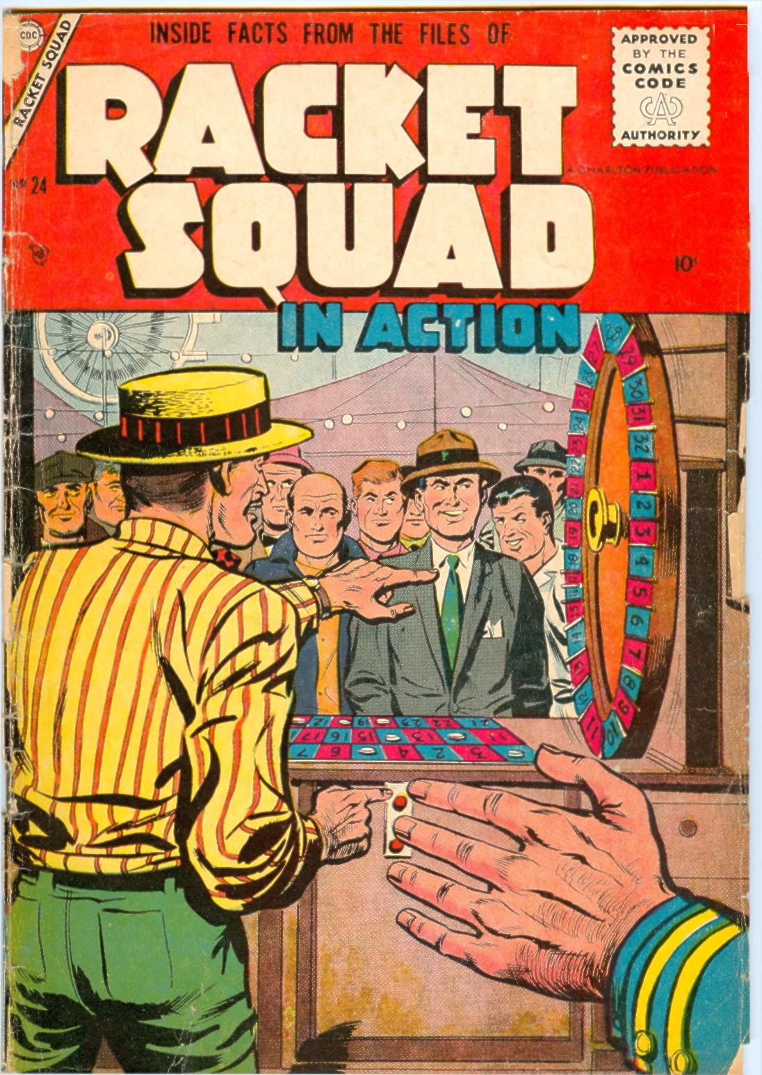 Read online Racket Squad in Action comic -  Issue #24 - 1