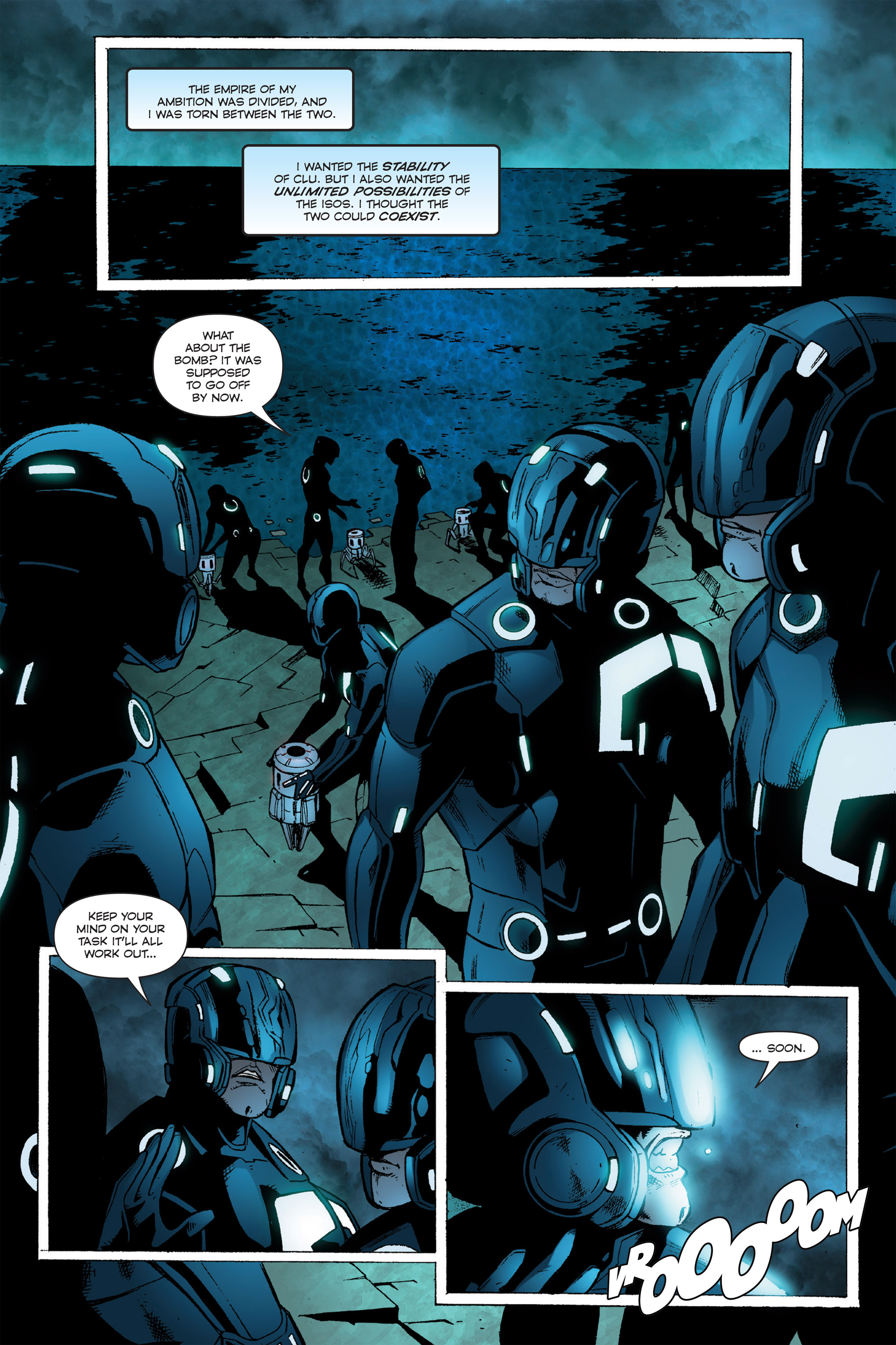 Read online TRON: Betrayal comic -  Issue # TPB - 98