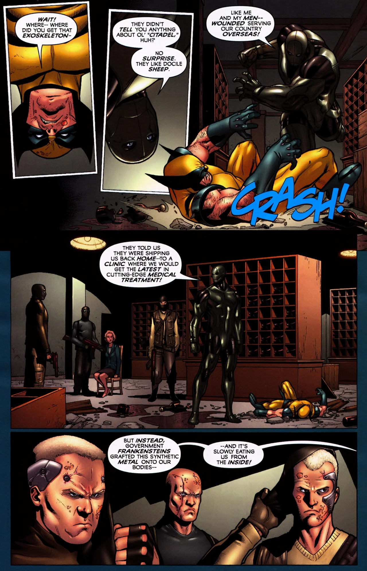 Read online Wolverine: First Class comic -  Issue #5 - 16