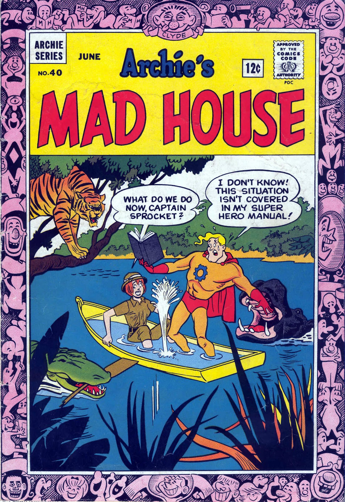 Archie's Madhouse issue 40 - Page 1