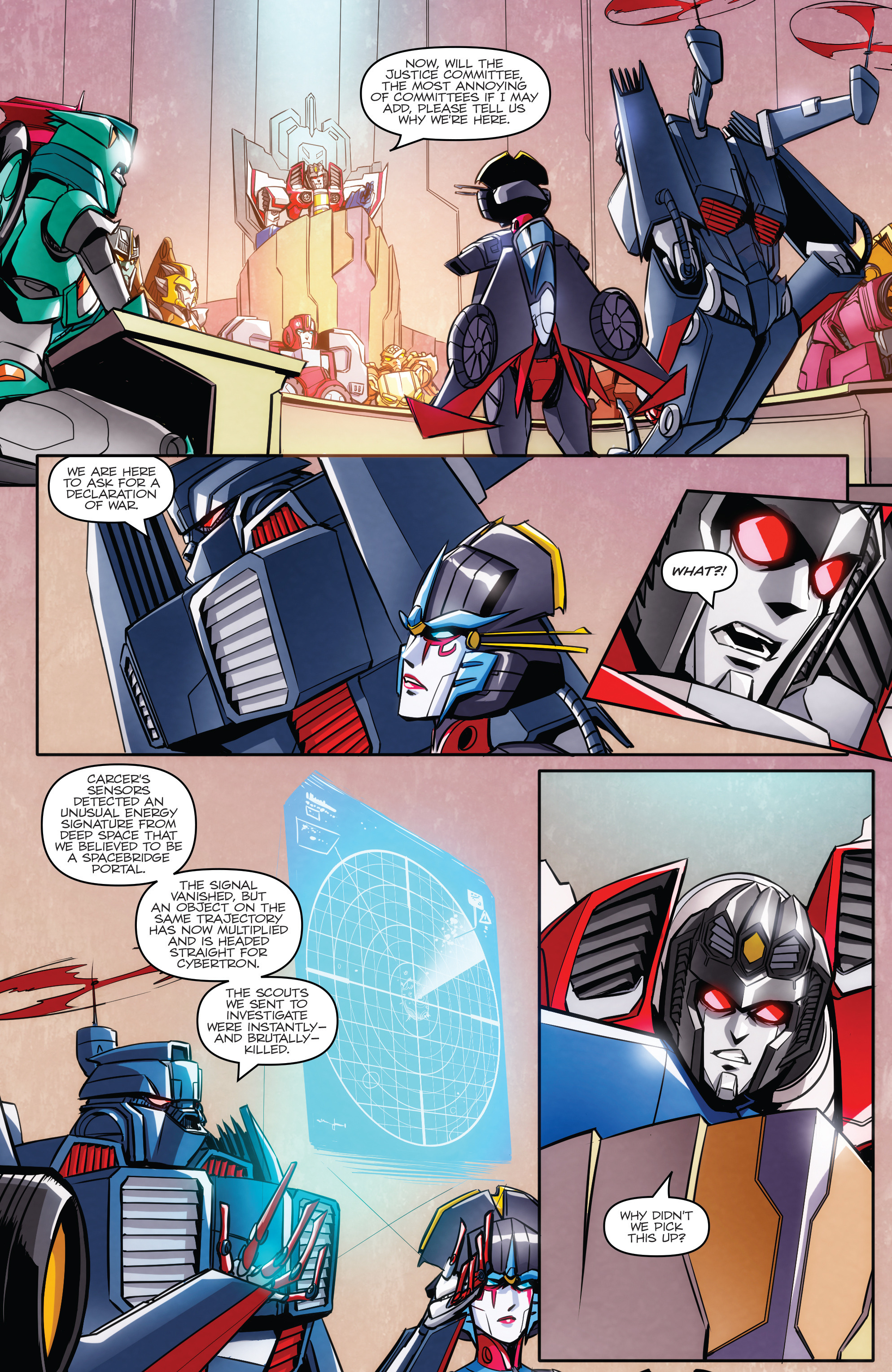 Read online Transformers: Till All Are One comic -  Issue #5 - 9