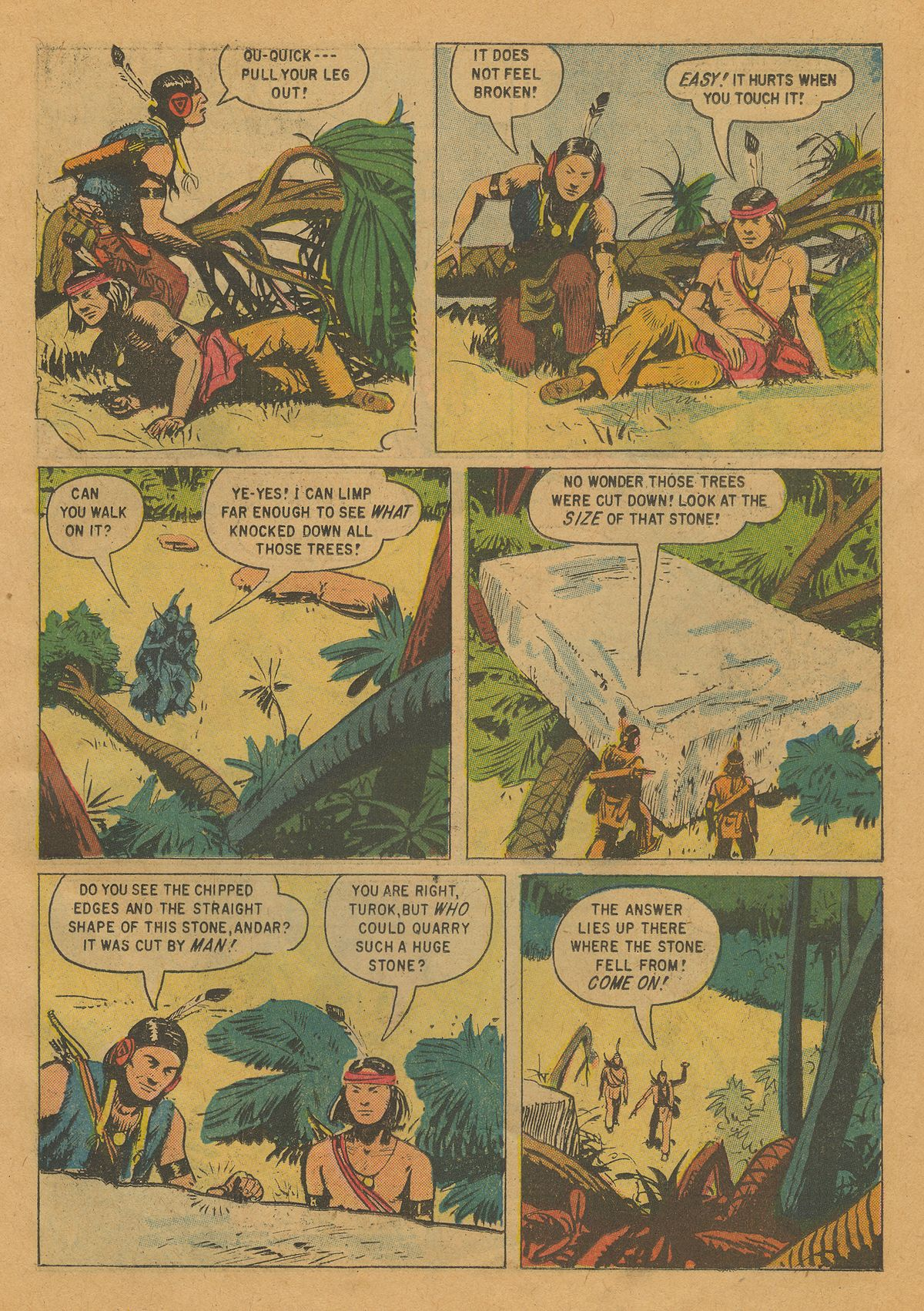 Read online Turok, Son of Stone comic -  Issue #22 - 23