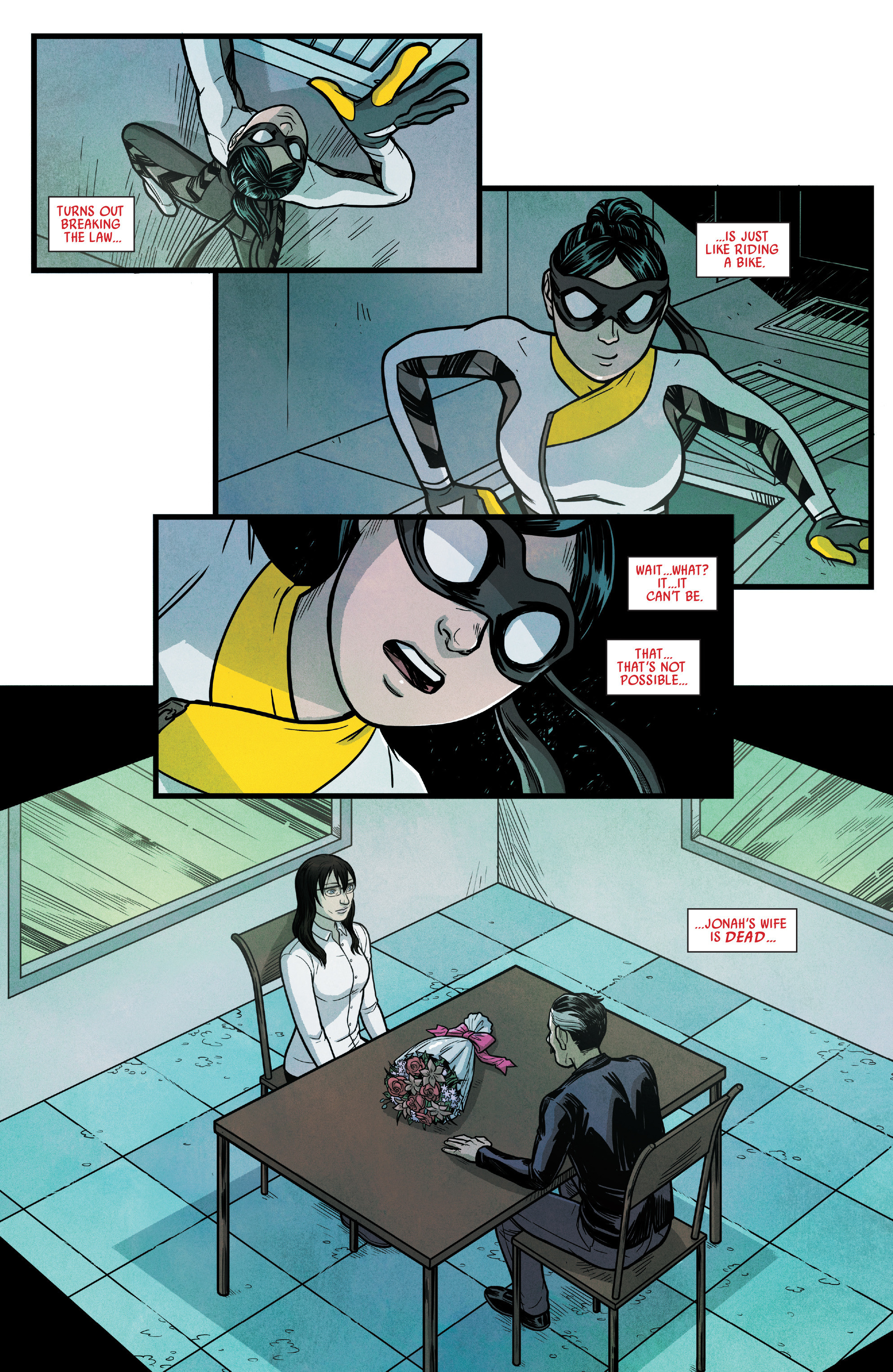 Read online Silk (2016) comic -  Issue #14 - 18