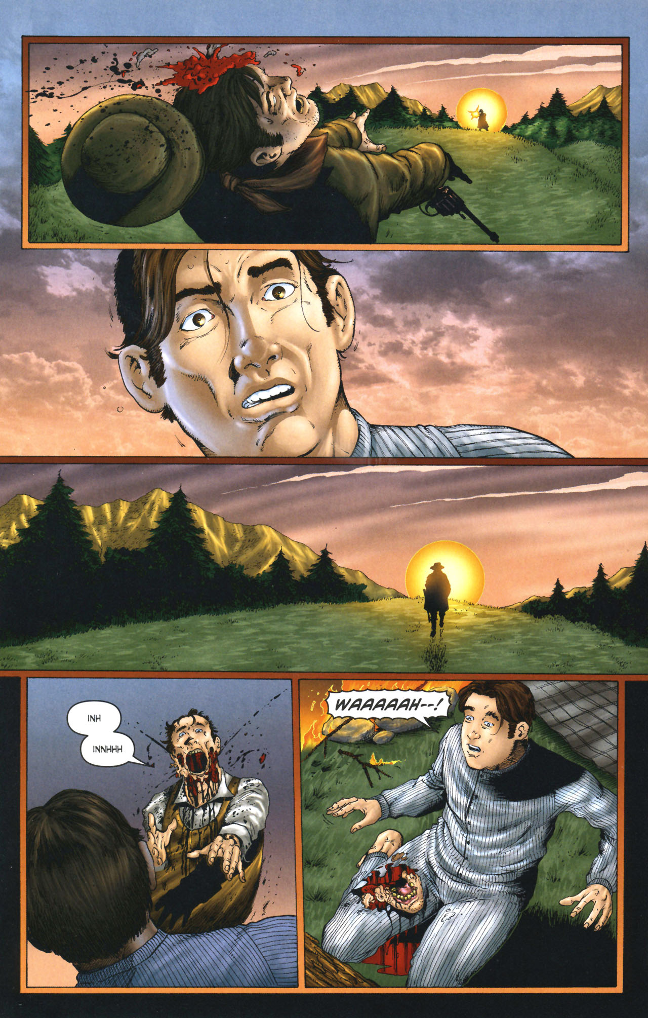 Read online Garth Ennis' Streets of Glory comic -  Issue #1 - 14