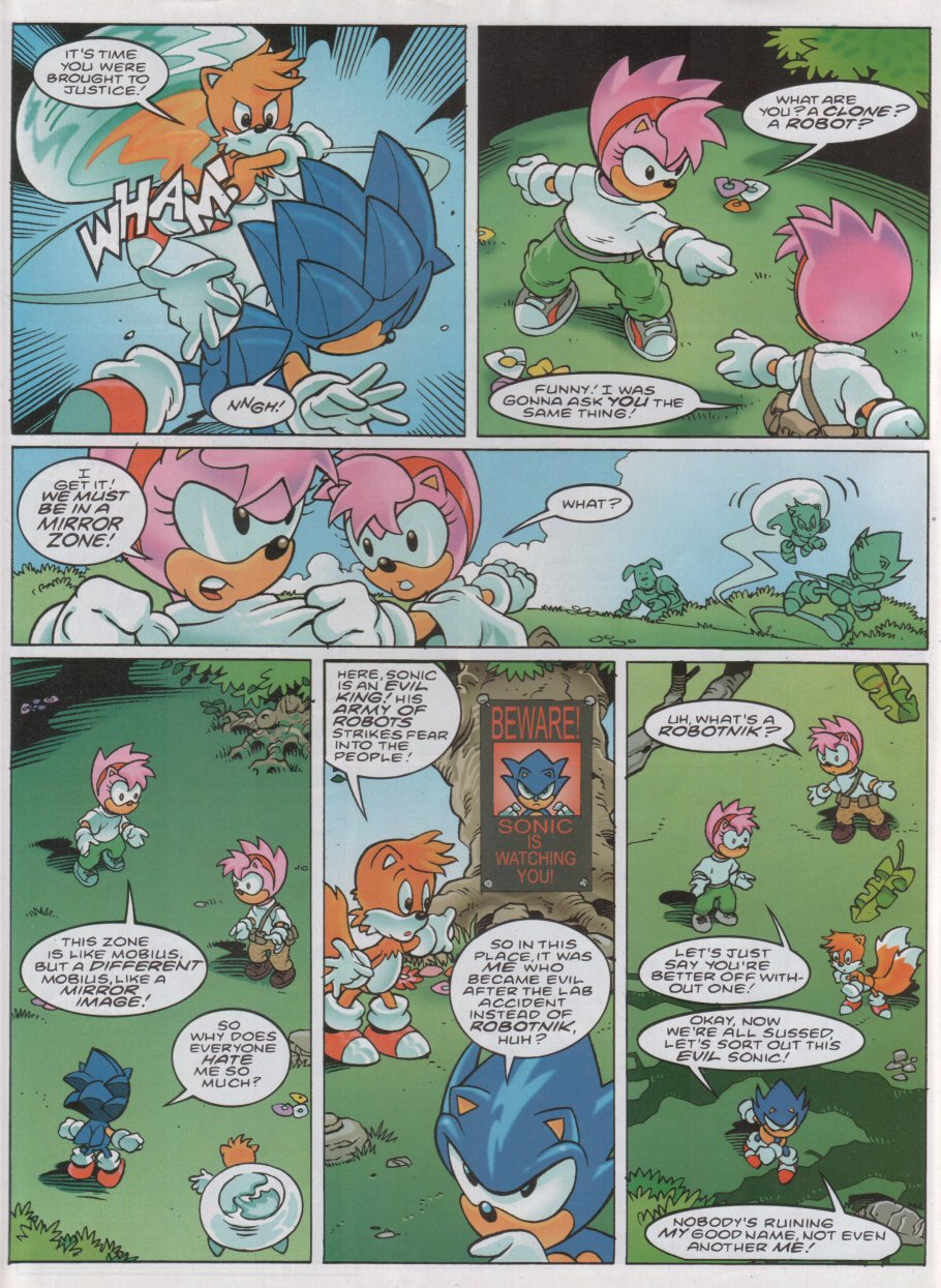 Read online Sonic the Comic comic -  Issue #168 - 4