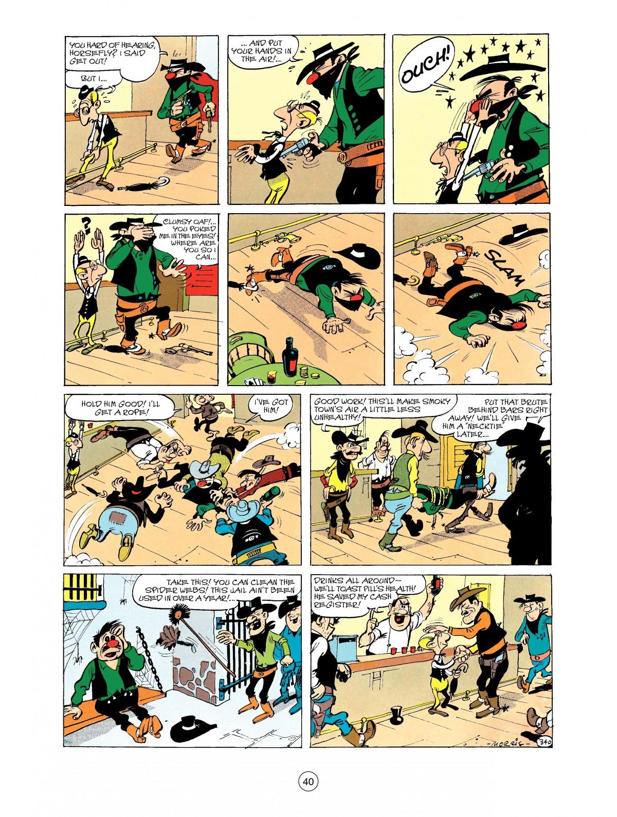 Read online A Lucky Luke Adventure comic -  Issue #40 - 40